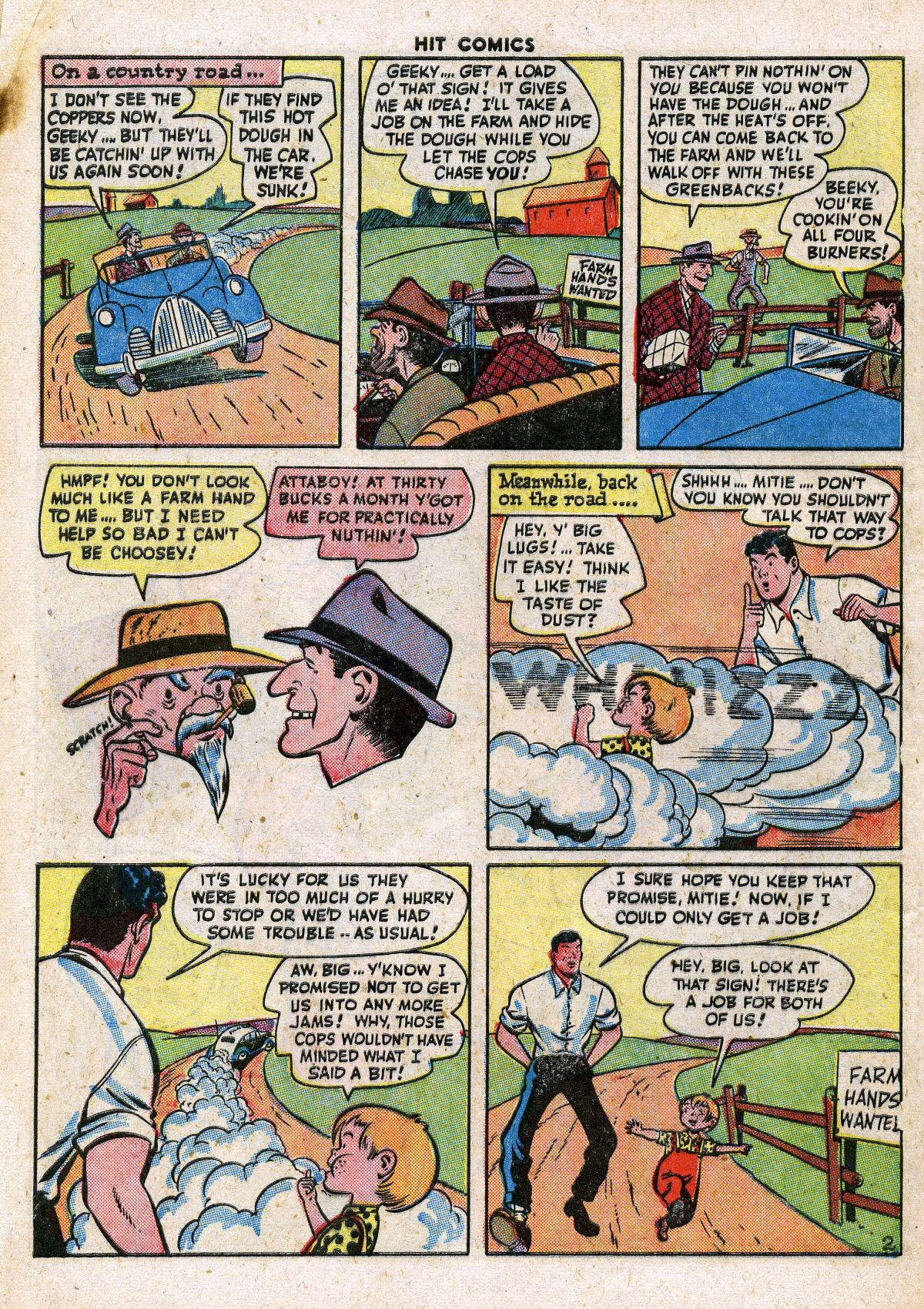 Read online Hit Comics comic -  Issue #41 - 52