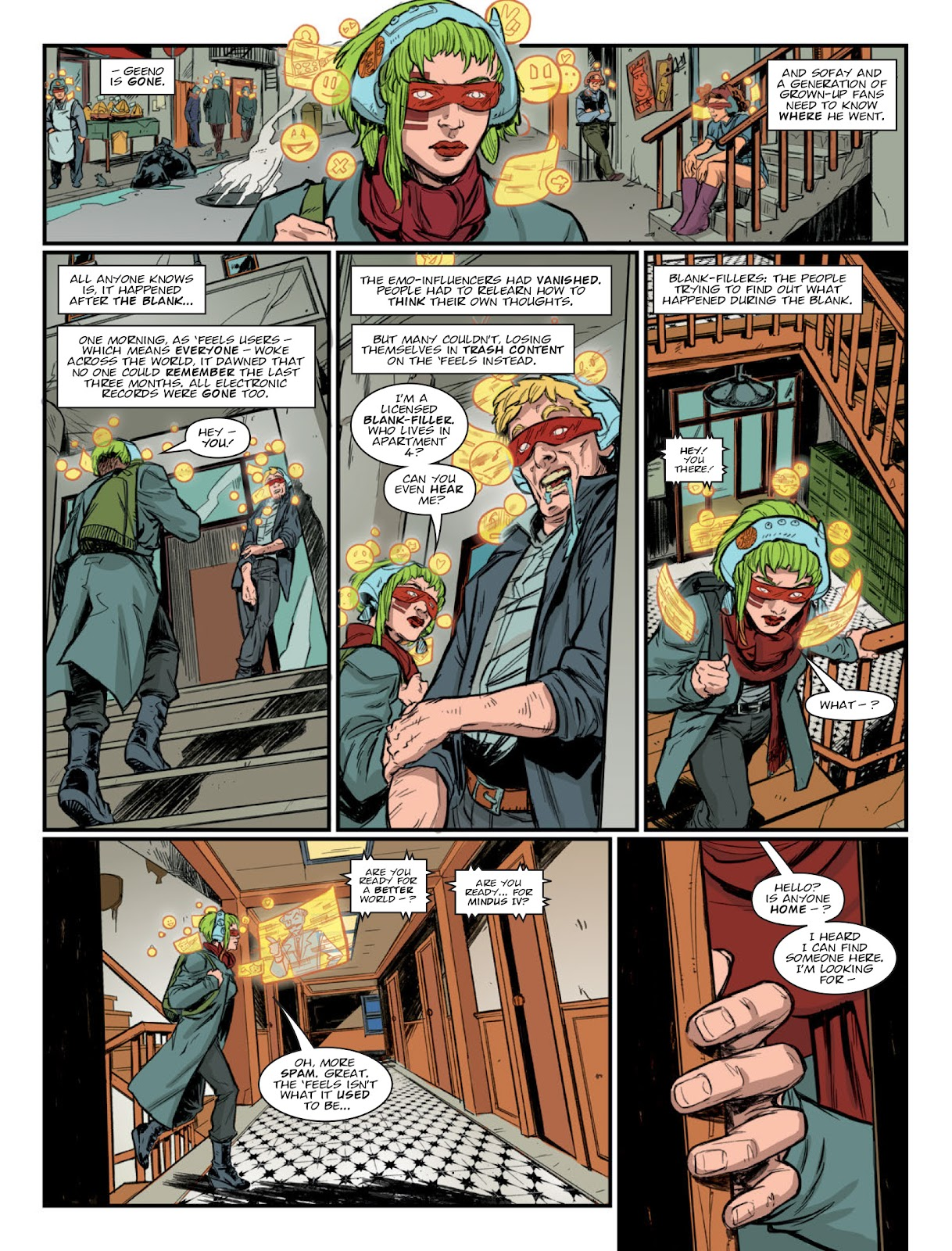 2000 AD issue 2220 - Page 37
