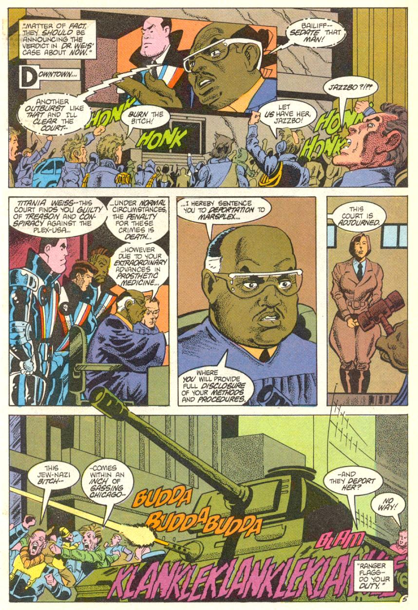 Read online American Flagg! comic -  Issue #14 - 6