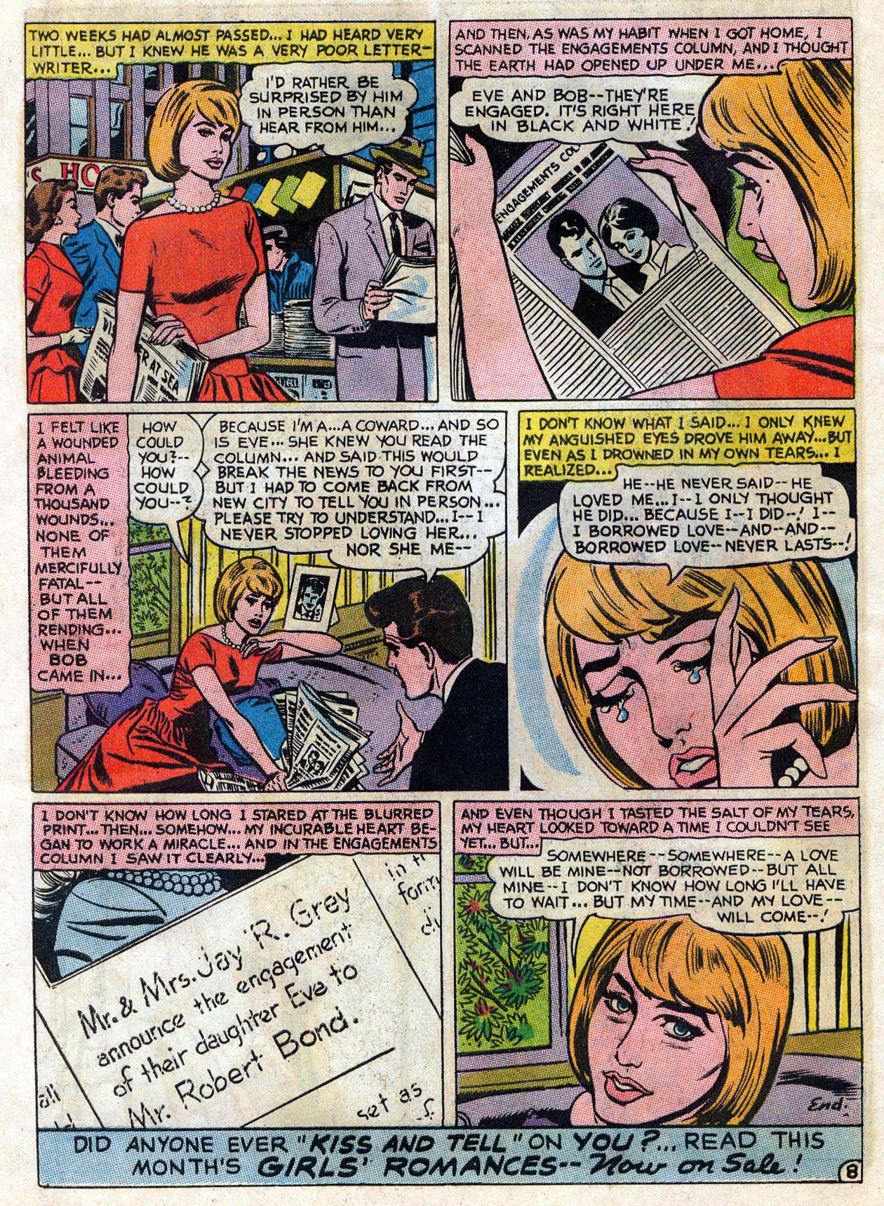 Read online Secret Hearts comic -  Issue #109 - 21