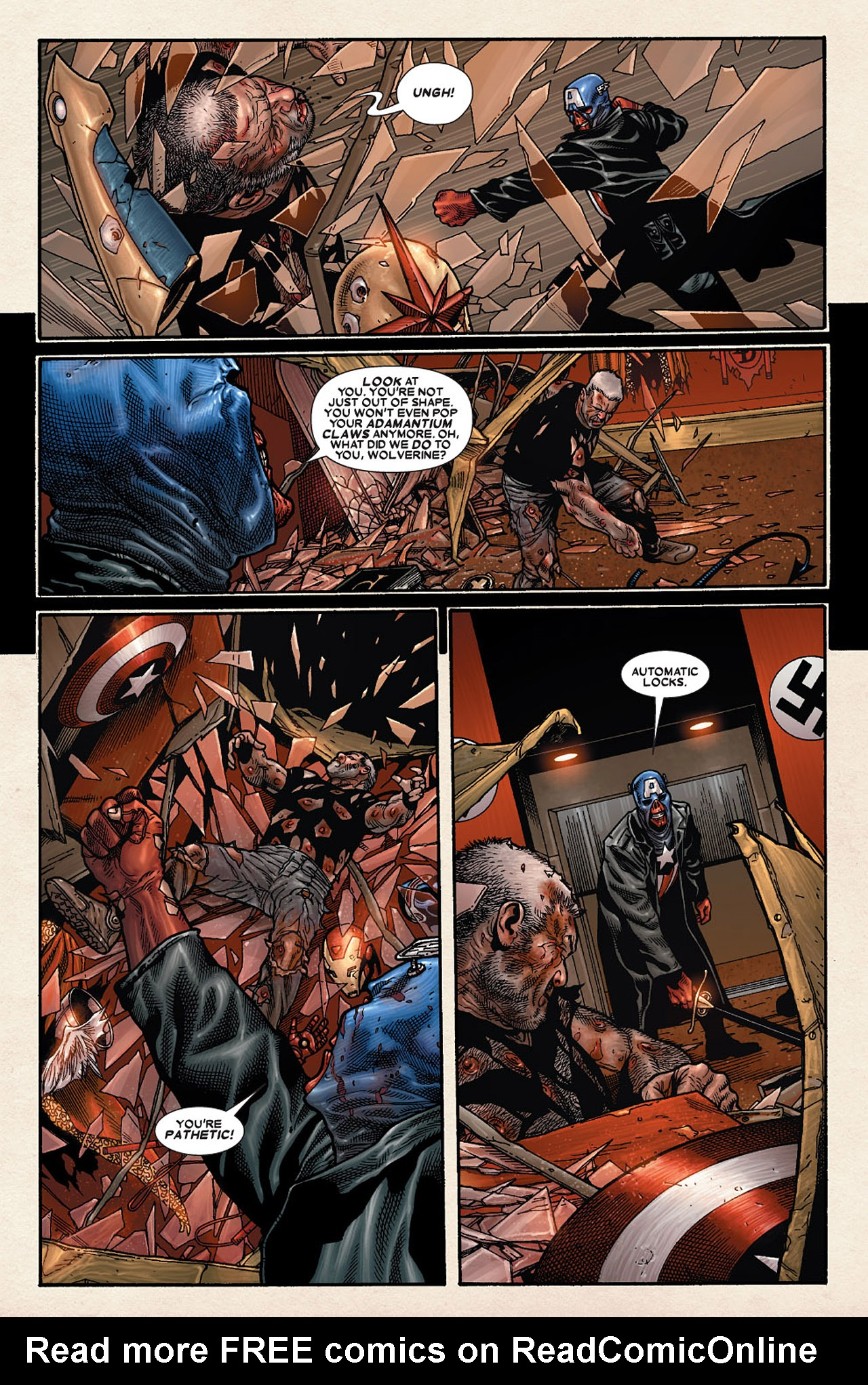 Read online Wolverine: Old Man Logan comic -  Issue # Full - 148