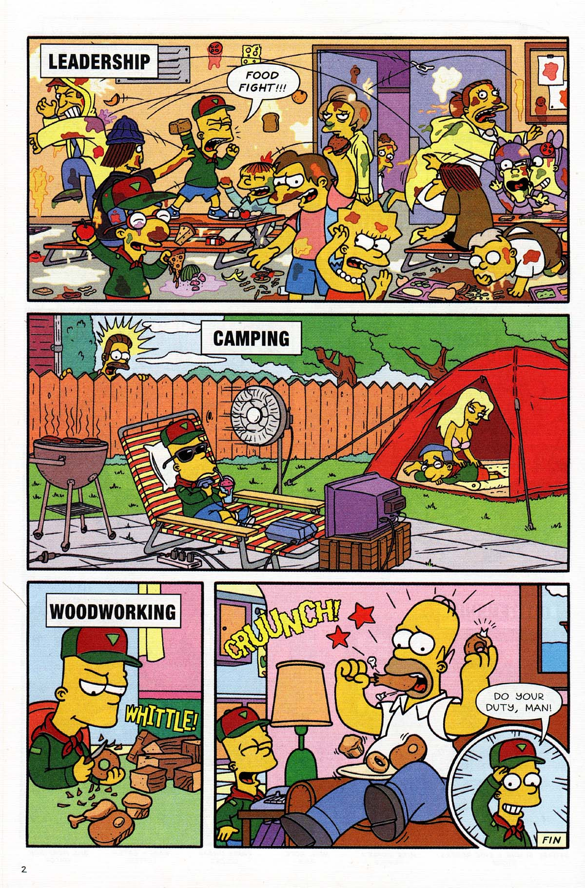 Read online Simpsons Comics Presents Bart Simpson comic -  Issue #15 - 16