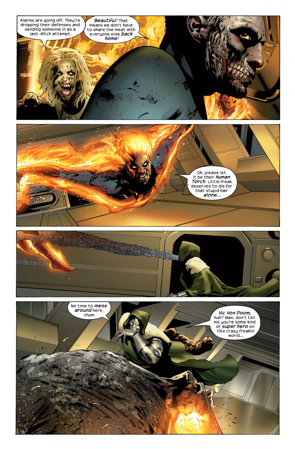 Read online Ultimate Fantastic Four (2004) comic -  Issue #32 - 14