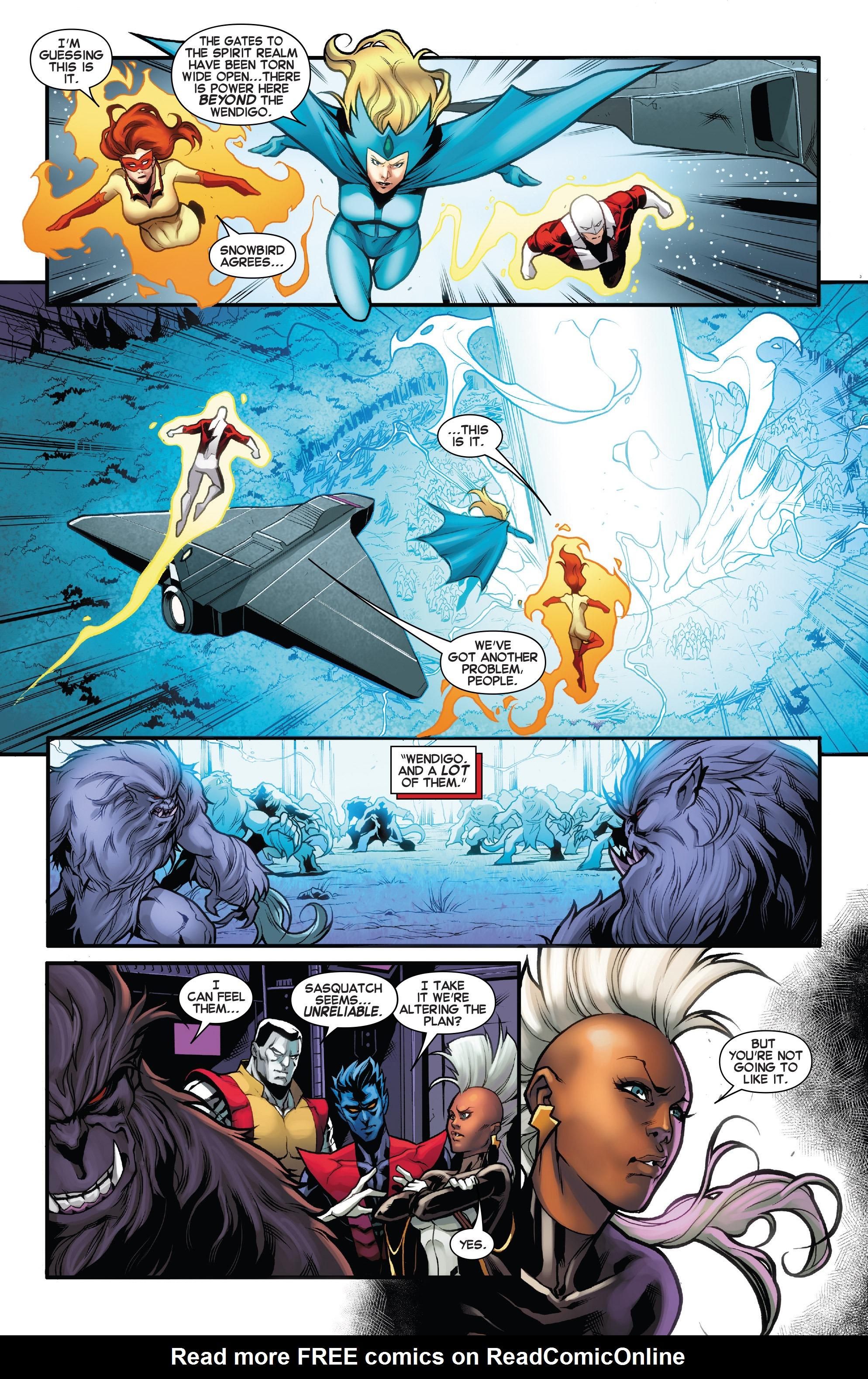 Read online Amazing X-Men (2014) comic -  Issue #10 - 20