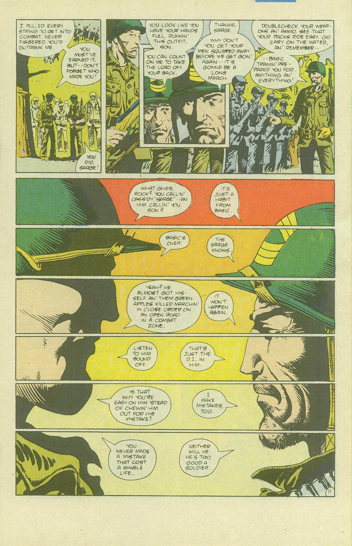 Read online Sgt. Rock comic -  Issue #411 - 16