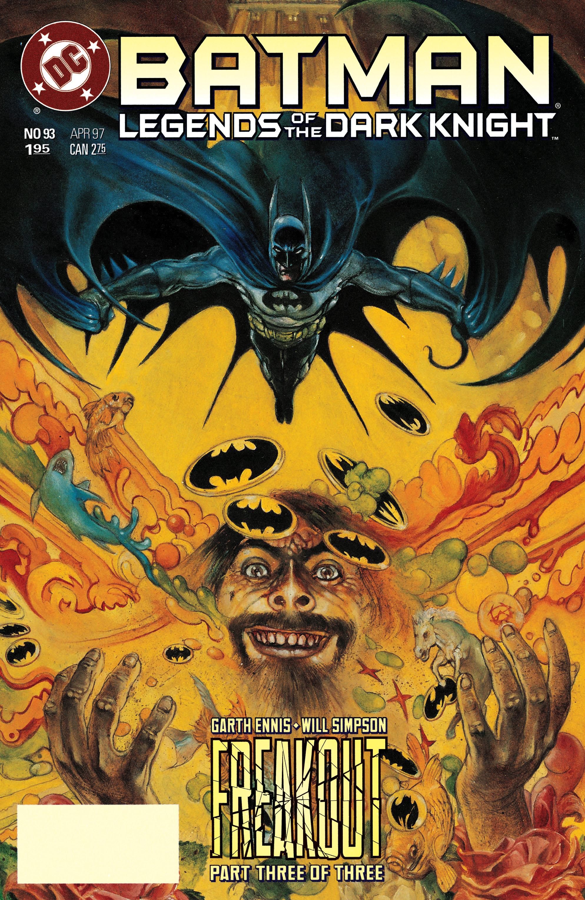 Batman: Legends of the Dark Knight 93 Page 1