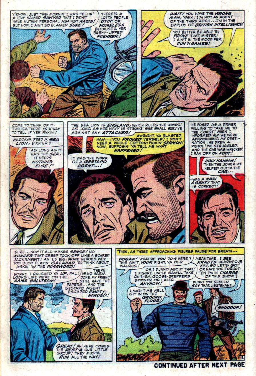 Read online Sgt. Fury comic -  Issue #34 - 18
