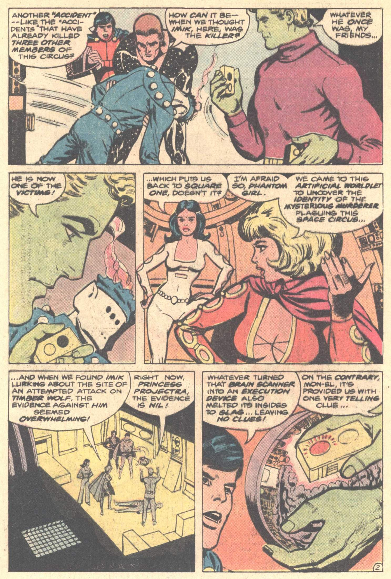 Legion of Super-Heroes (1980) 261 Page 3