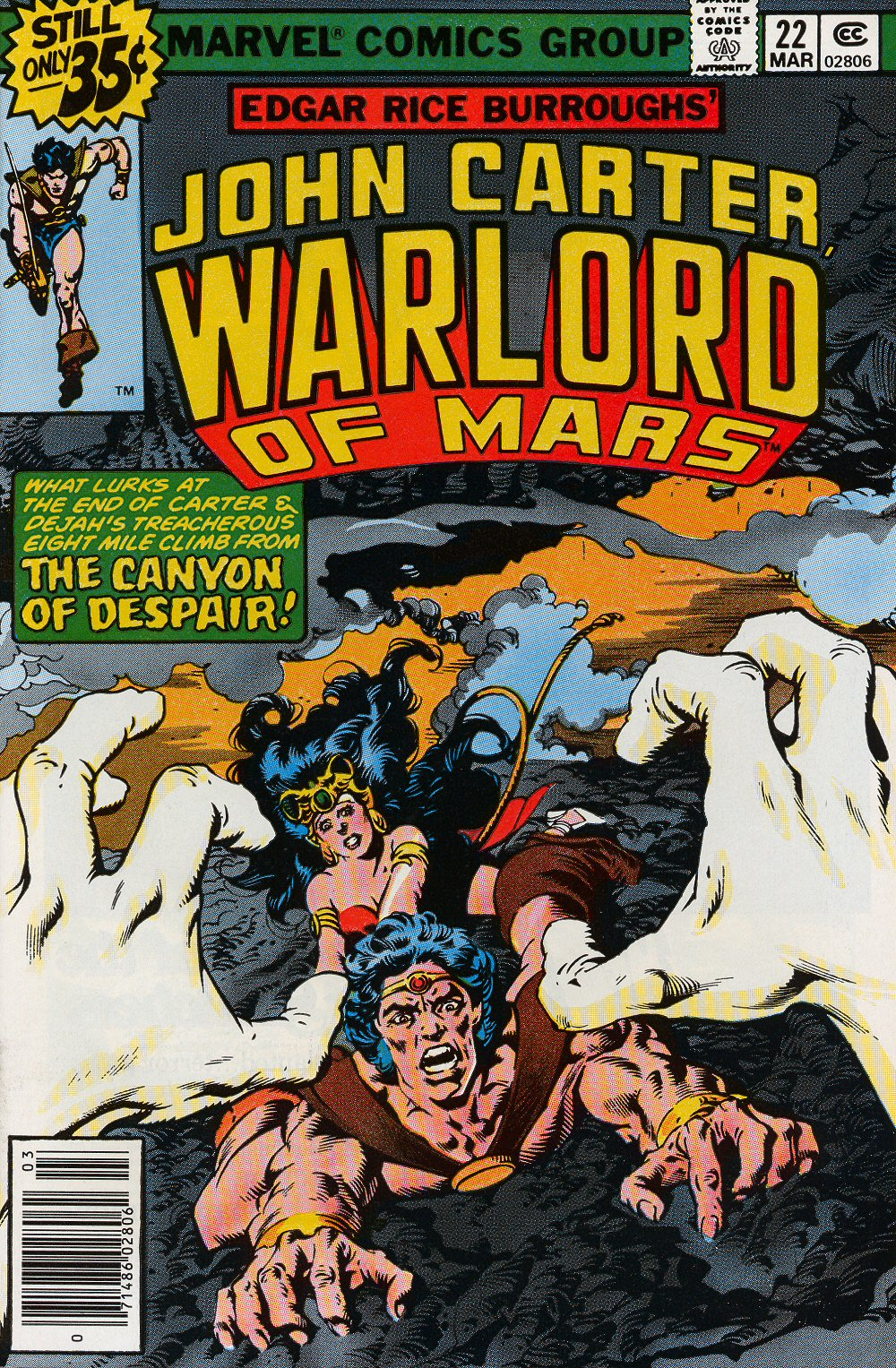 John Carter Warlord of Mars issue 22 - Page 1