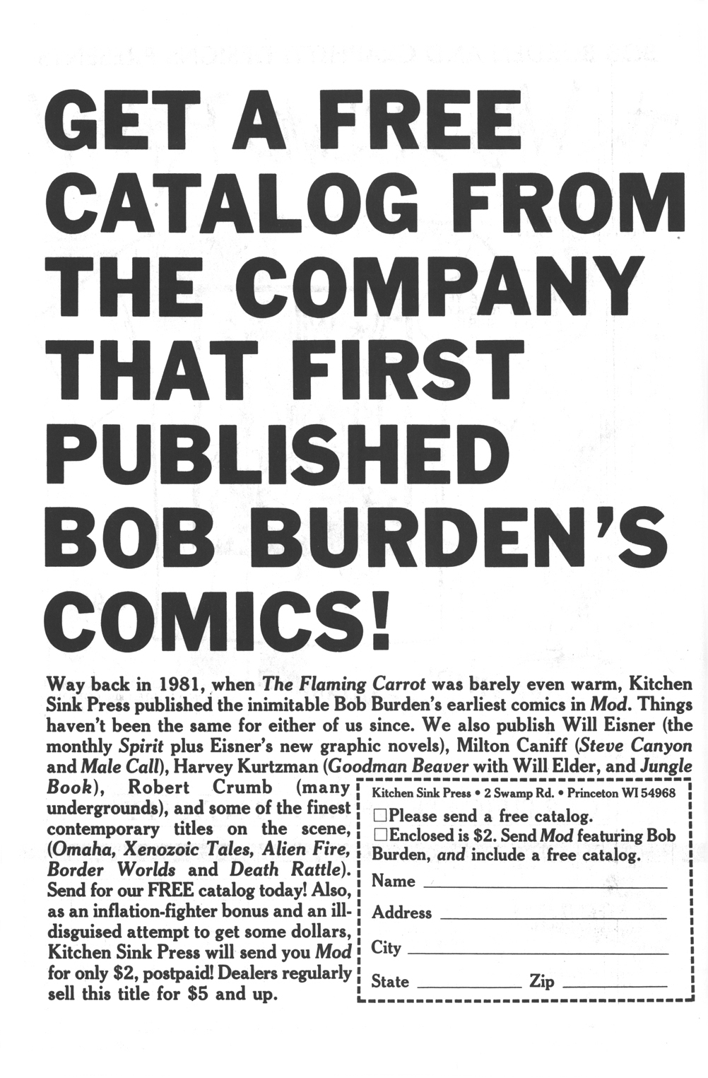 Read online Flaming Carrot Comics (1984) comic -  Issue #16 - 30