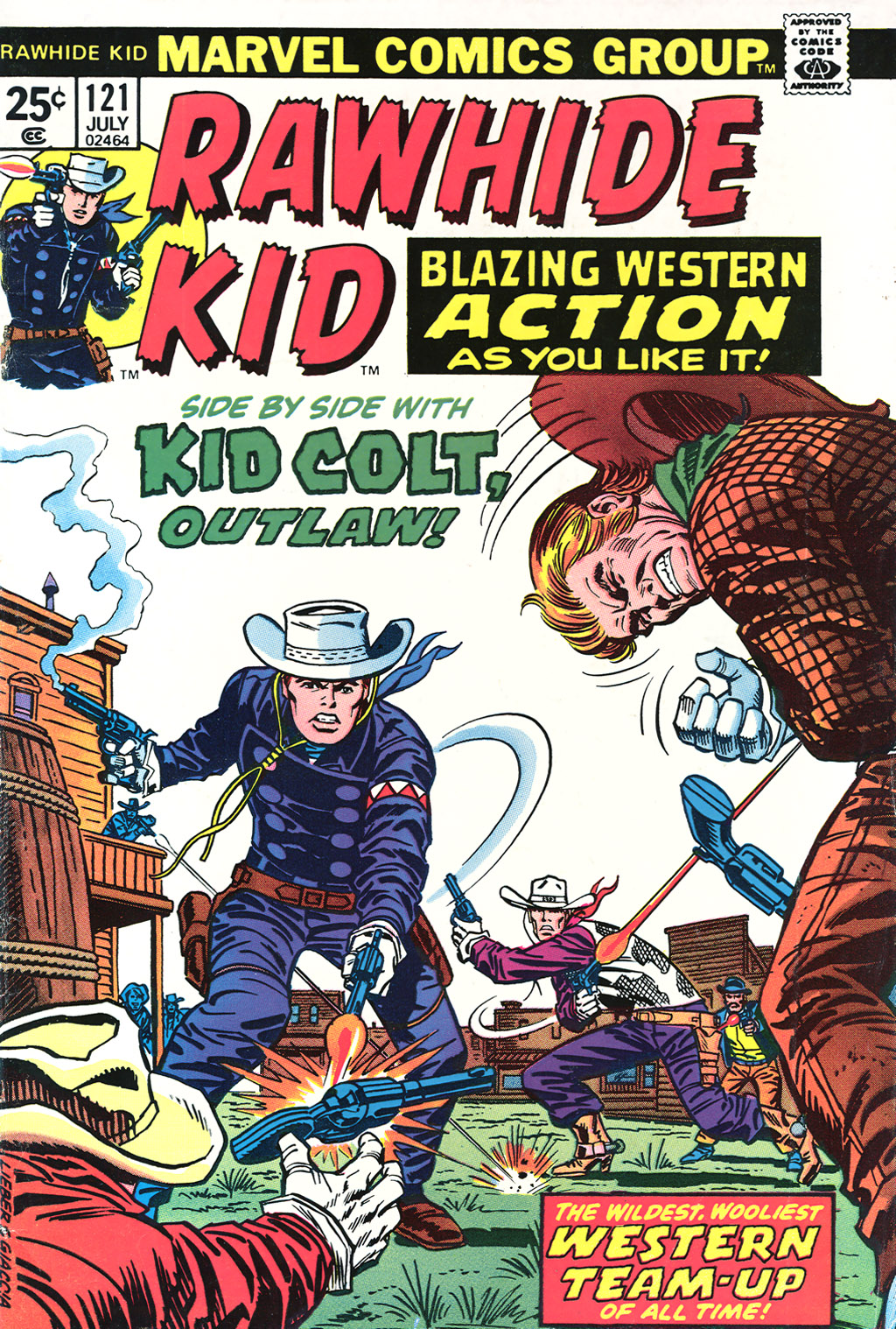 The Rawhide Kid (1955) issue 121 - Page 1