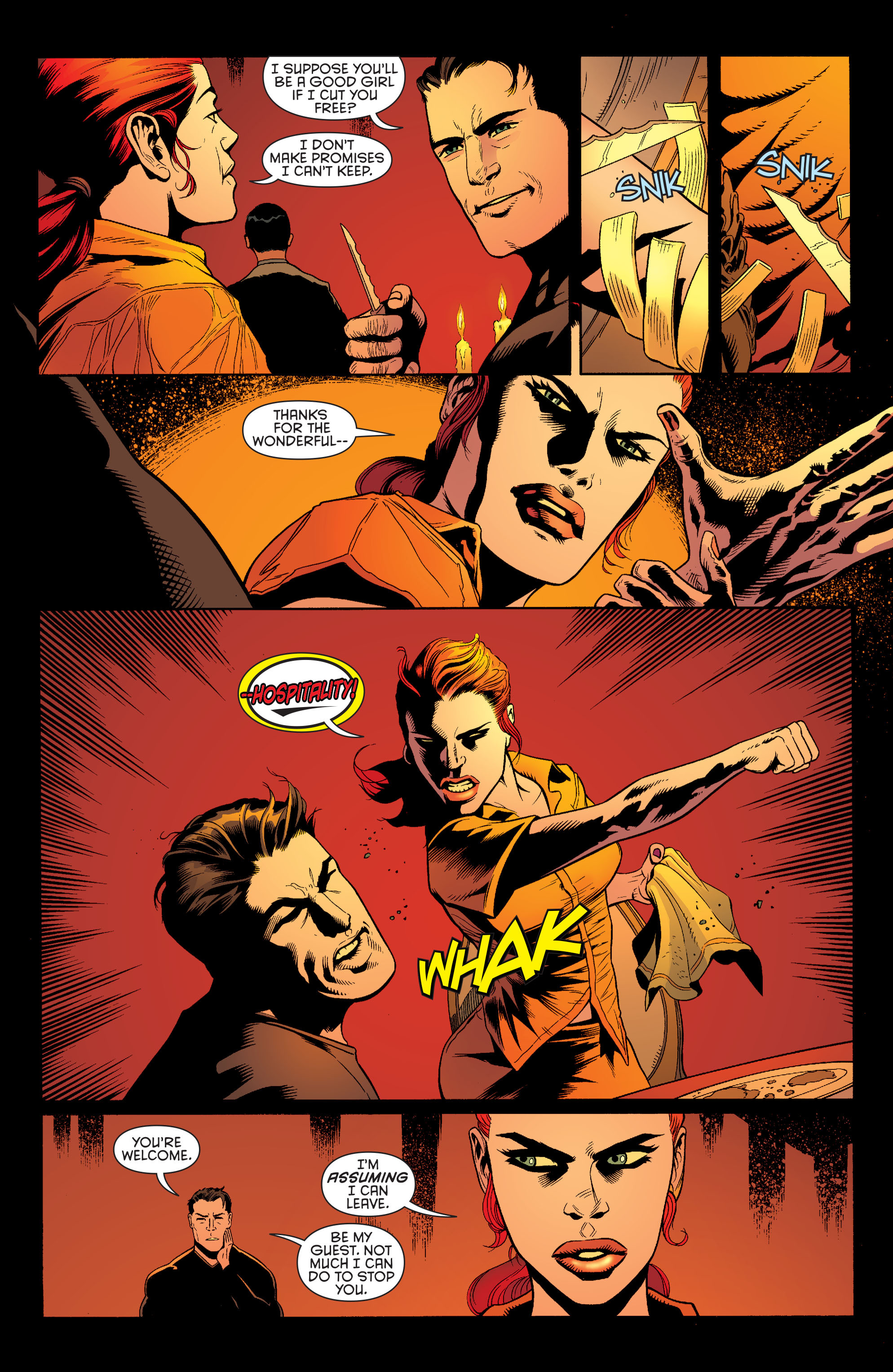 Read online Batman and Robin (2011) comic -  Issue #26 - Batman and Two-Face - 4