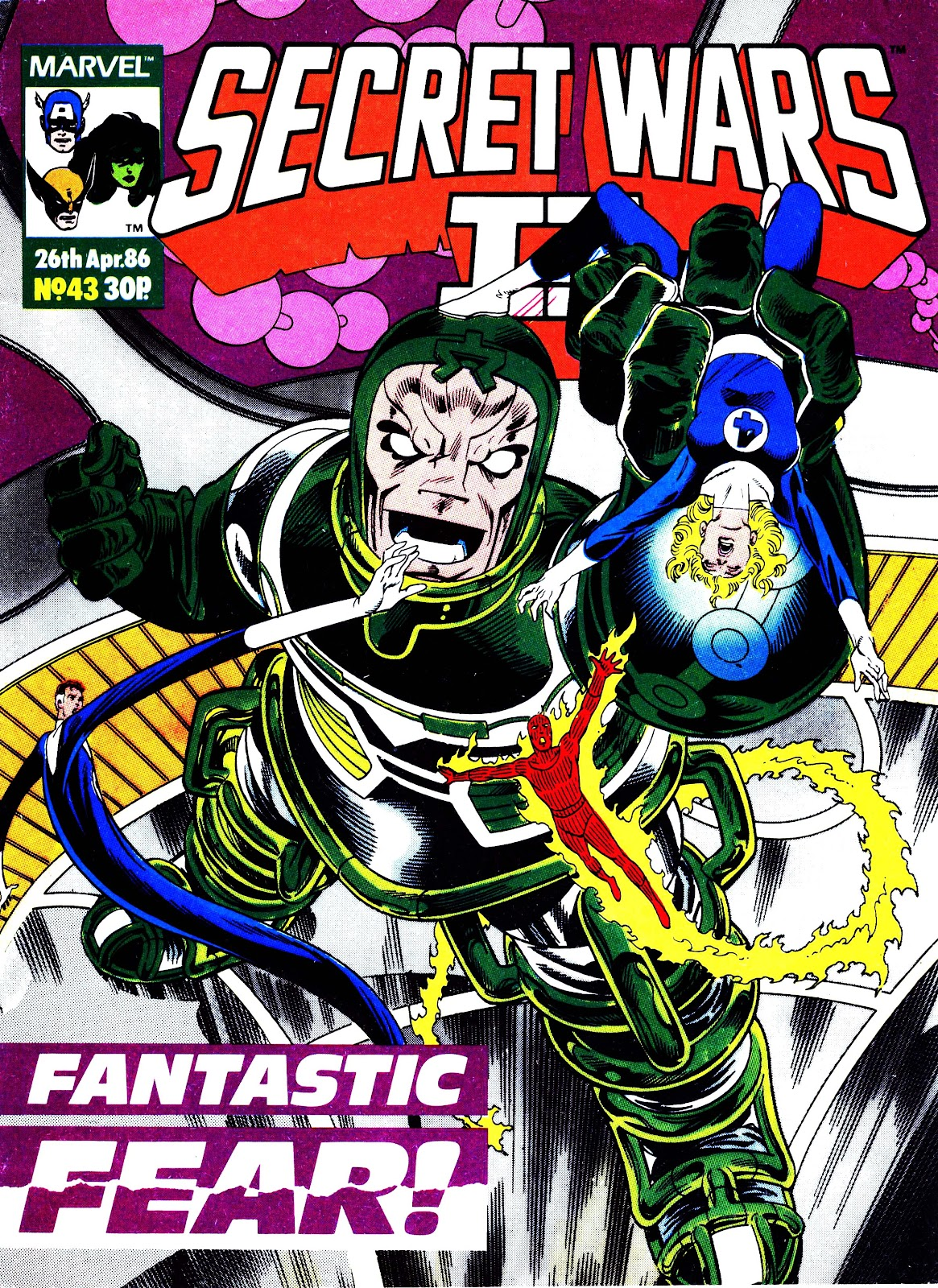 Secret Wars (1985) issue 43 - Page 1