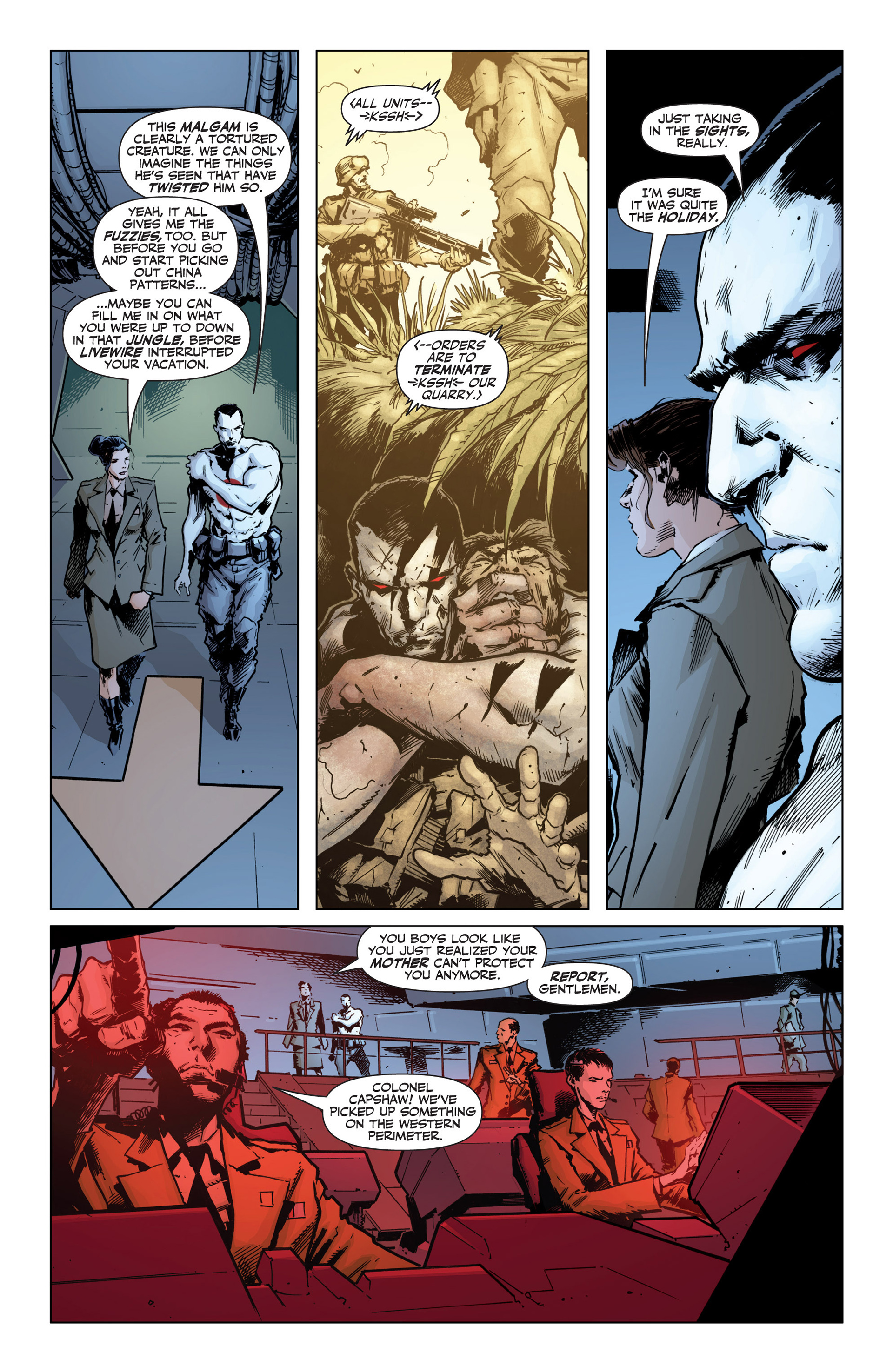 Read online Armor Hunters: Bloodshot comic -  Issue #1 - 15