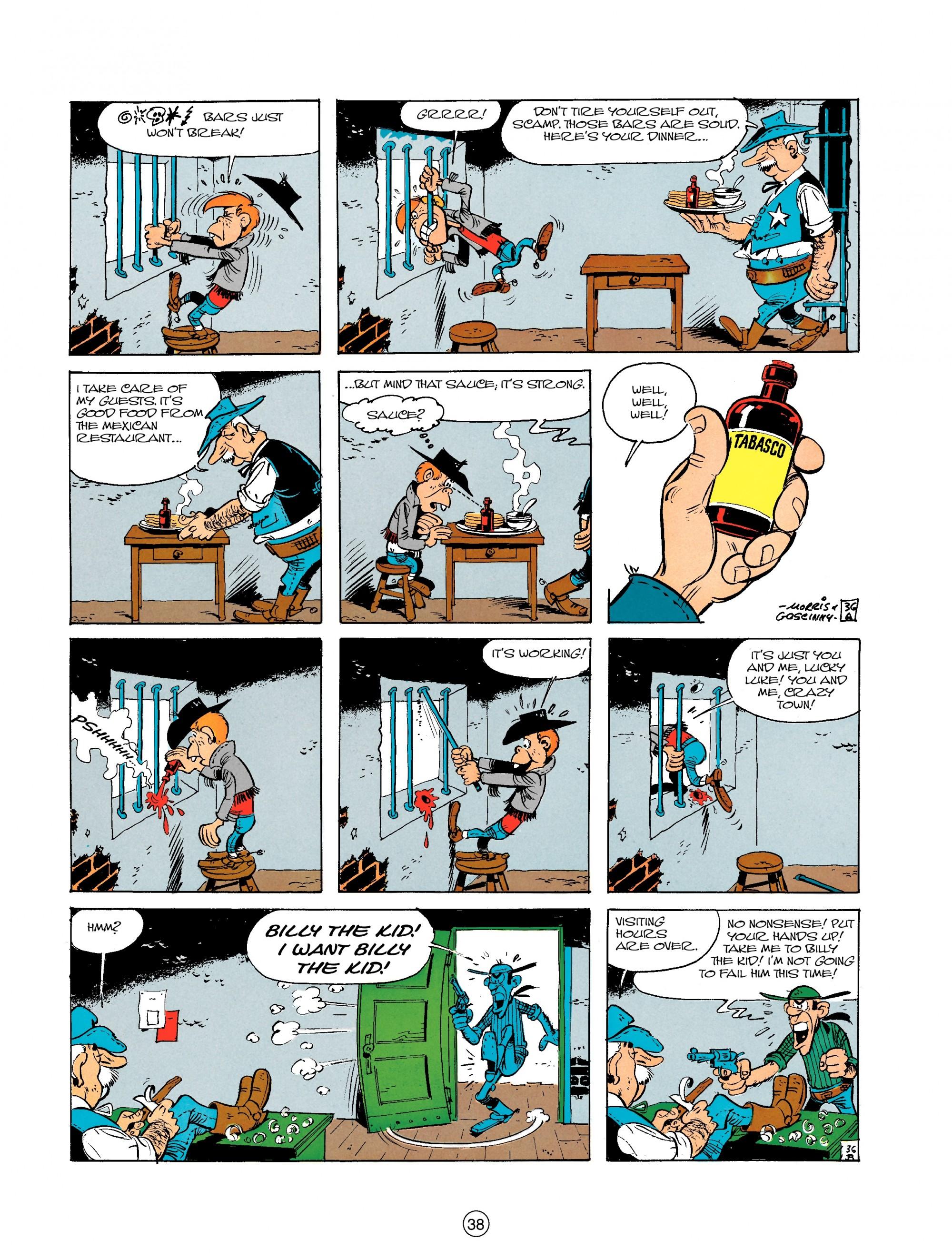 Read online A Lucky Luke Adventure comic -  Issue #18 - 38