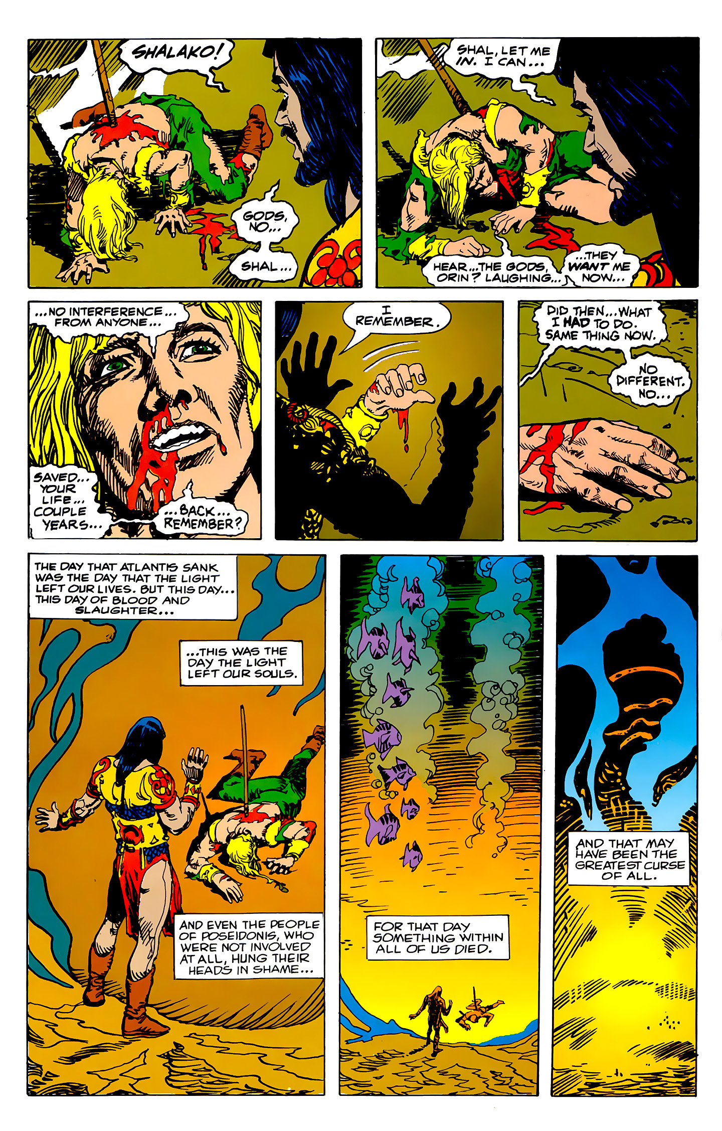 Read online Atlantis Chronicles comic -  Issue #2 - 43