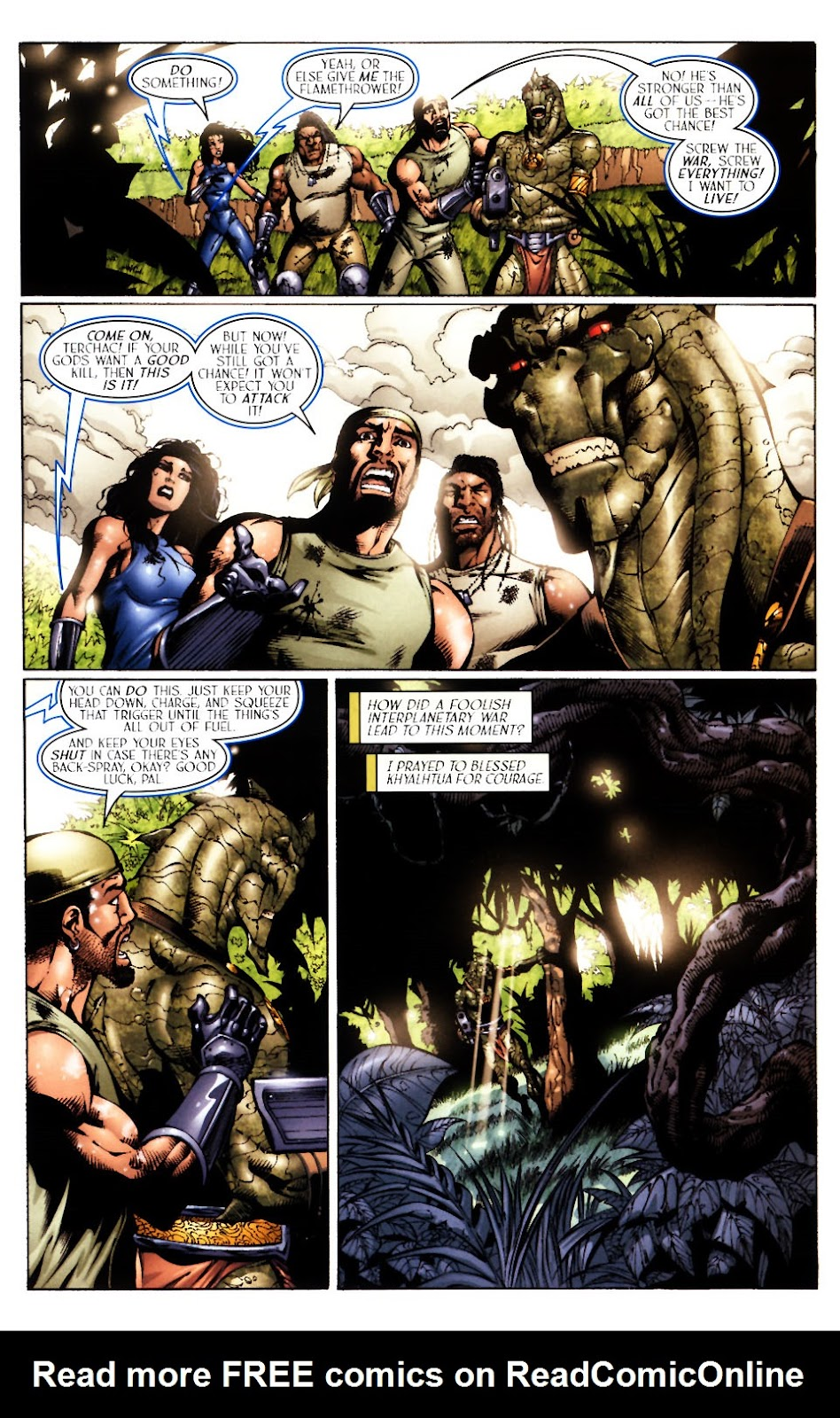 Read online Saurians: Unnatural Selection comic -  Issue #1 - 18