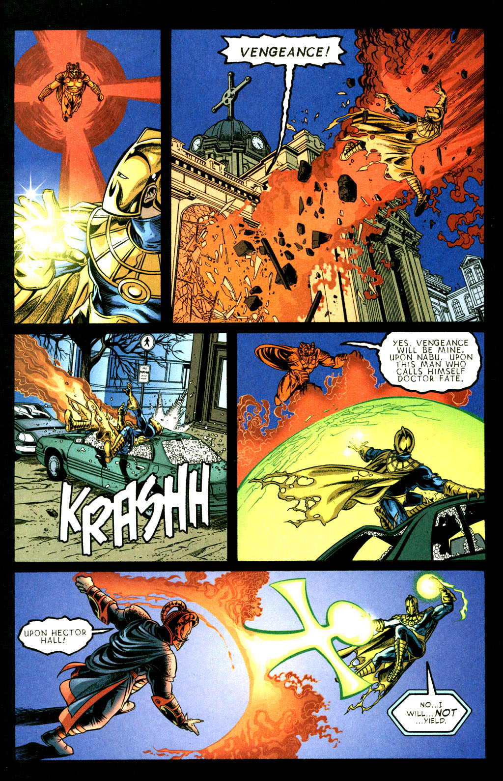 Read online Doctor Fate (2003) comic -  Issue #3 - 19