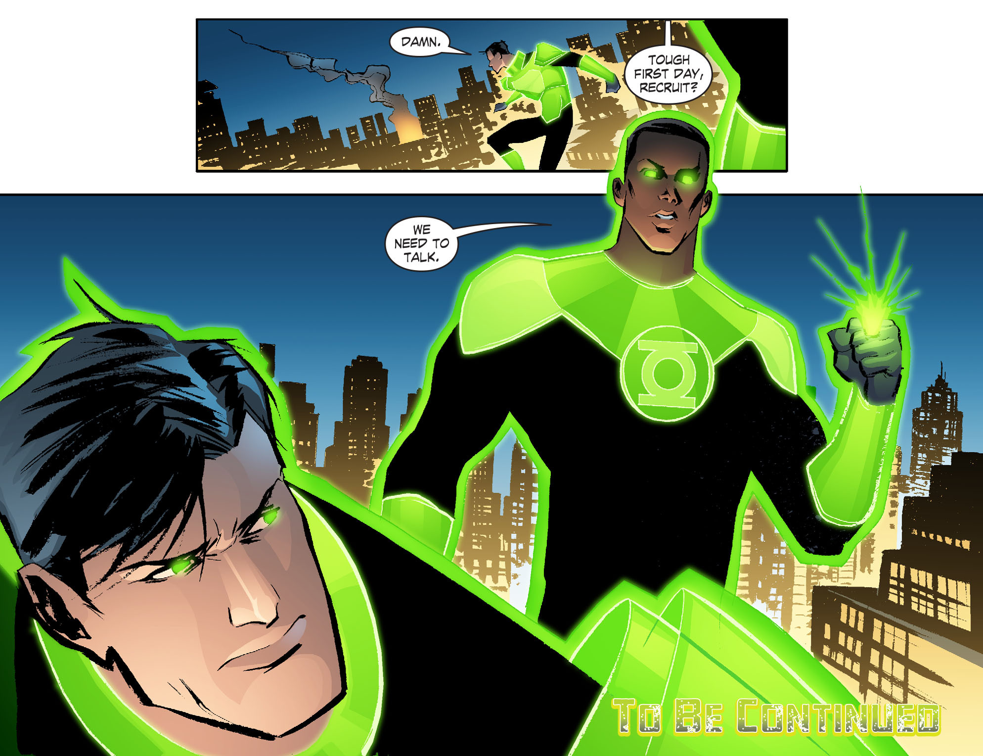 Read online Smallville: Lantern [I] comic -  Issue #2 - 22