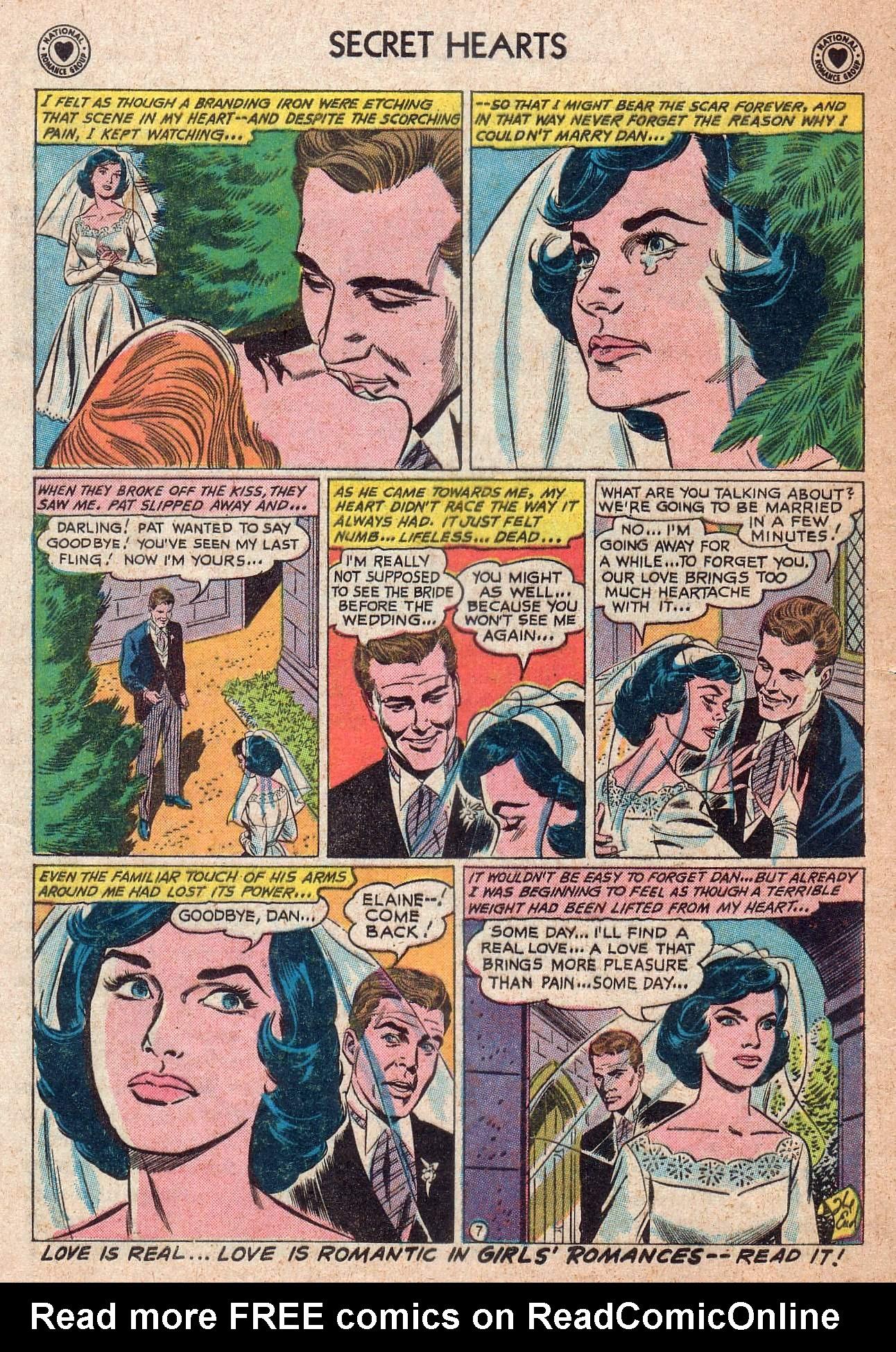 Read online Secret Hearts comic -  Issue #73 - 24