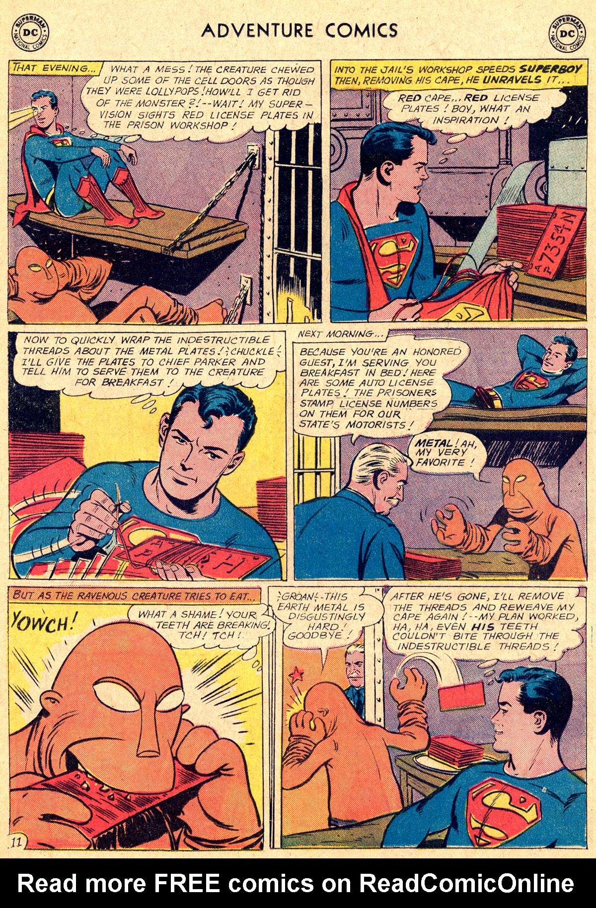 Read online Adventure Comics (1938) comic -  Issue #294 - 13