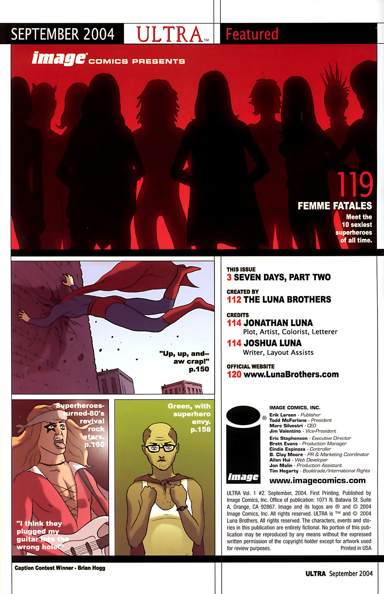 Read online Ultra comic -  Issue #2 - 2