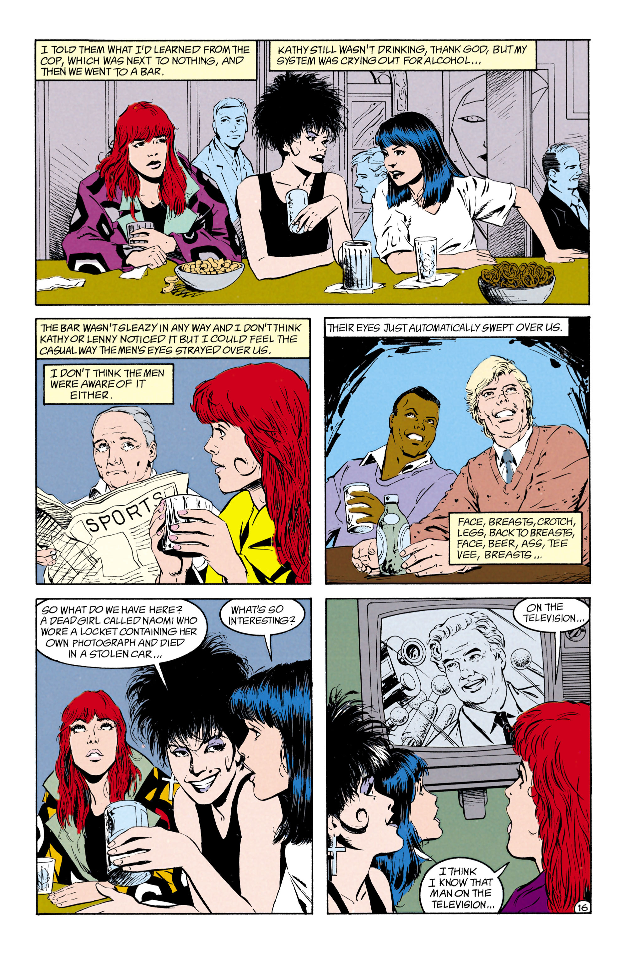 Read online Shade, the Changing Man comic -  Issue #27 - 17
