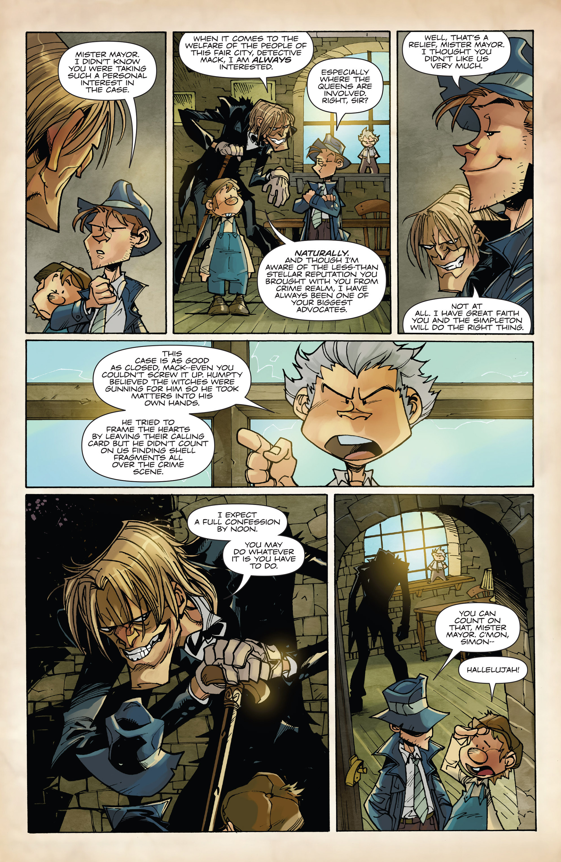 Read online Fiction Squad comic -  Issue #2 - 5