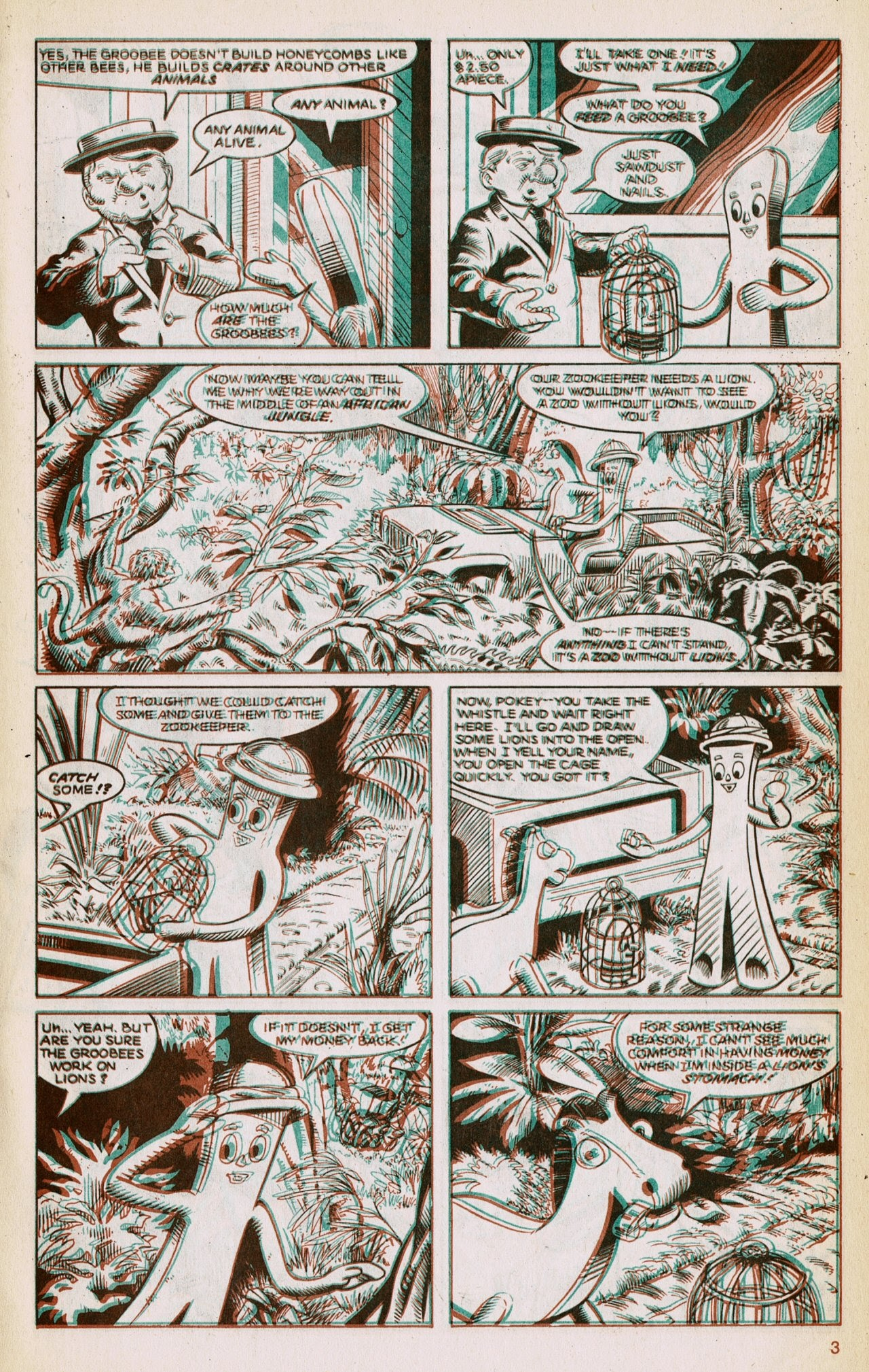 Gumby 3-D issue 1 - Page 5