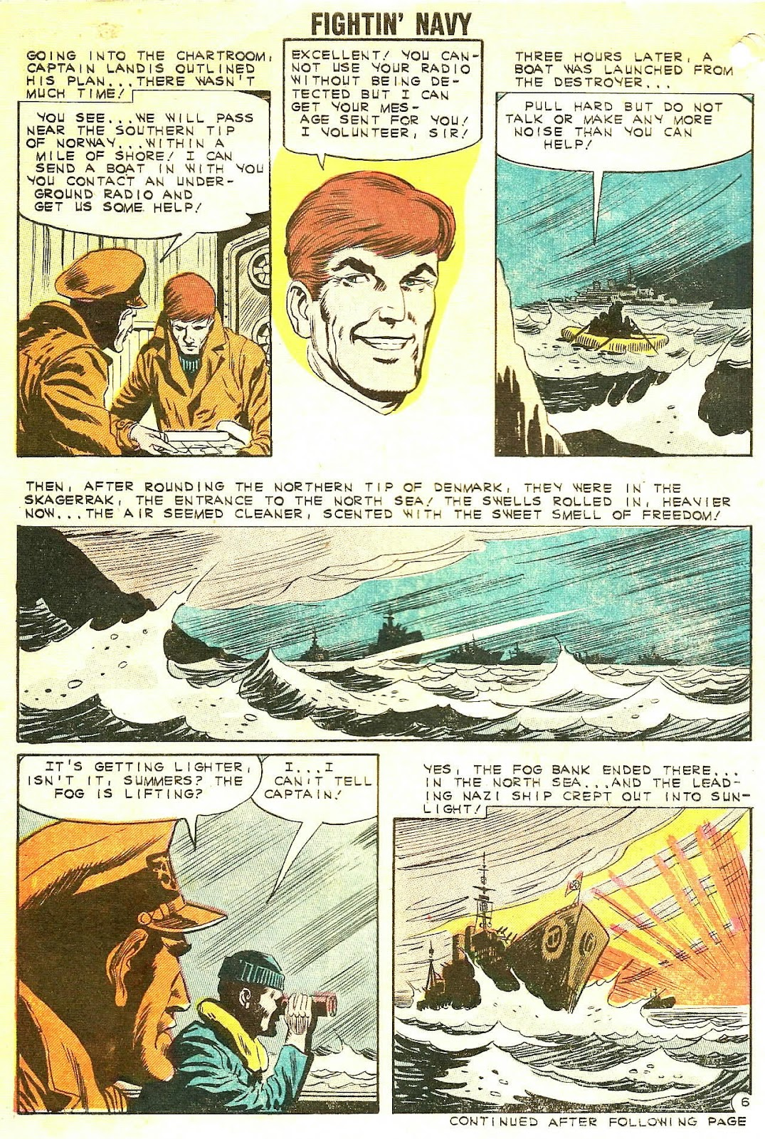 Read online Fightin' Navy comic -  Issue #102 - 30