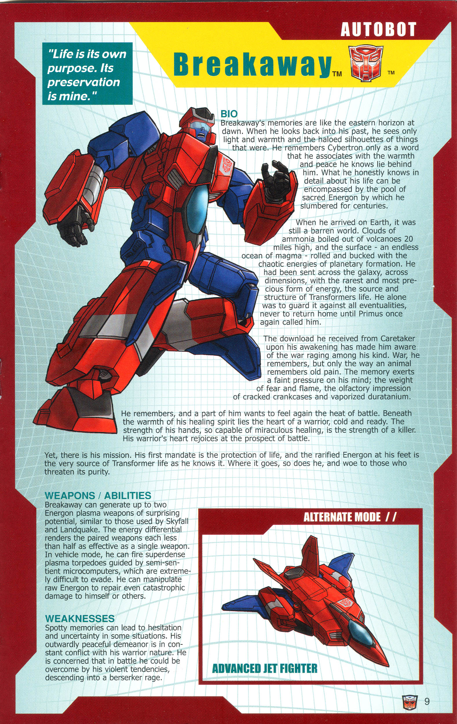 Read online Transformers: Collectors' Club comic -  Issue #16 - 9