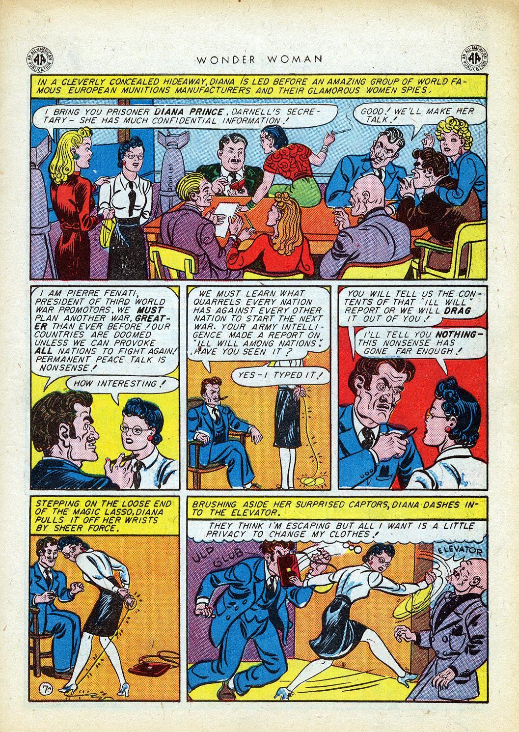 Read online Wonder Woman (1942) comic -  Issue #12 - 9