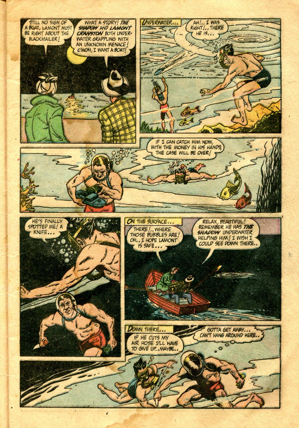 Read online Shadow Comics comic -  Issue #99 - 11