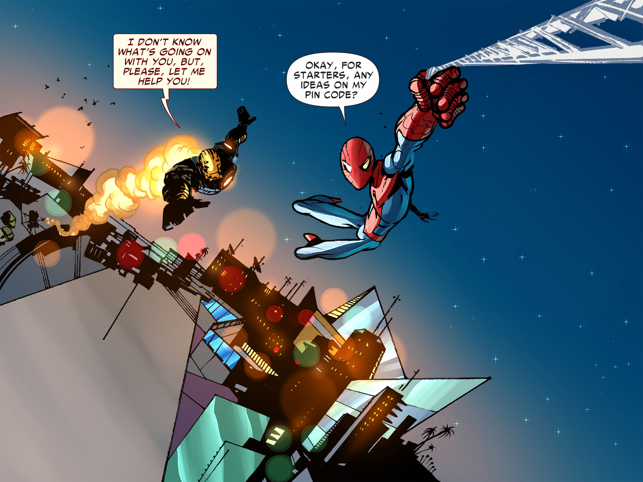 Read online Amazing Spider-Man: Who Am I? comic -  Issue # Full (Part 1) - 142