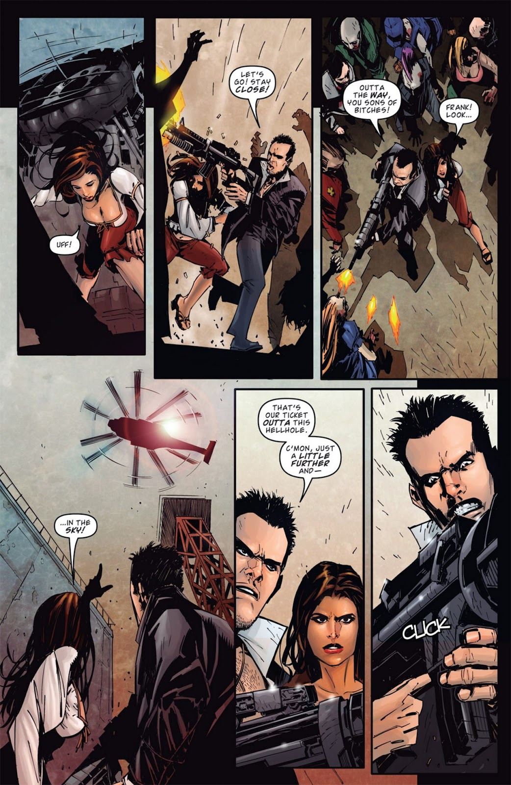 Read online Dead Rising: Road to Fortune comic -  Issue #1 - 11