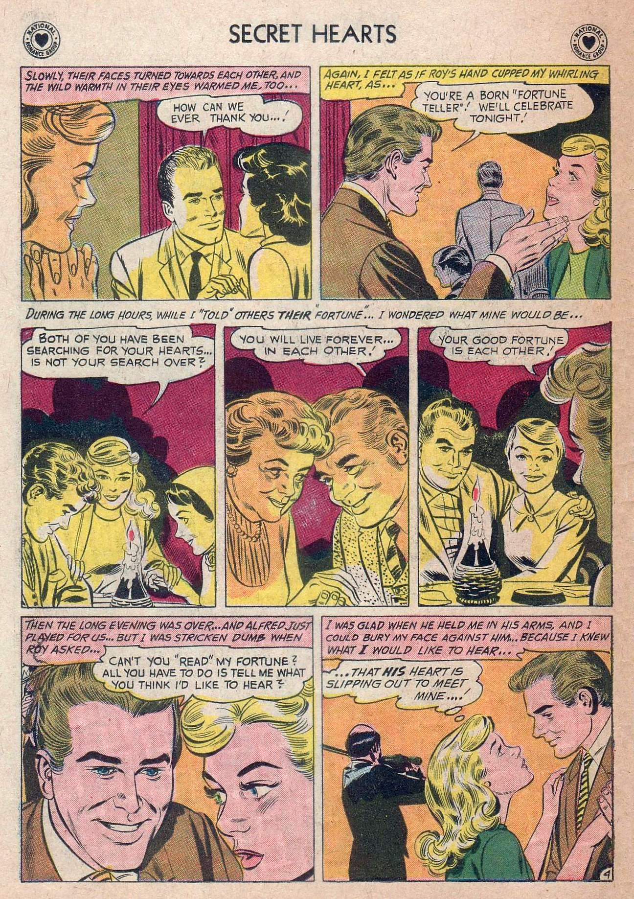 Read online Secret Hearts comic -  Issue #73 - 30