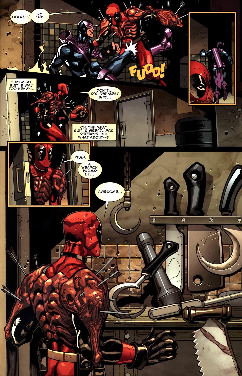 Read online Deadpool (2008) comic -  Issue #11 - 21