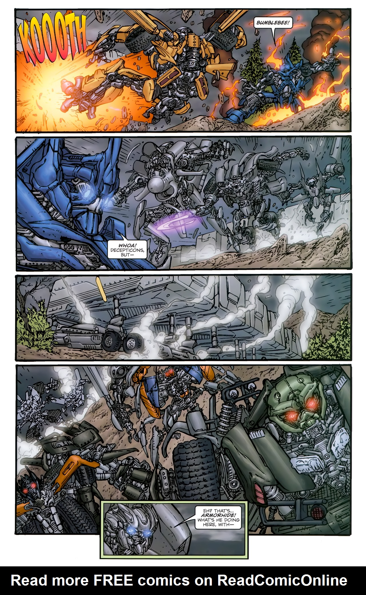 Read online Transformers: Nefarious comic -  Issue #5 - 24