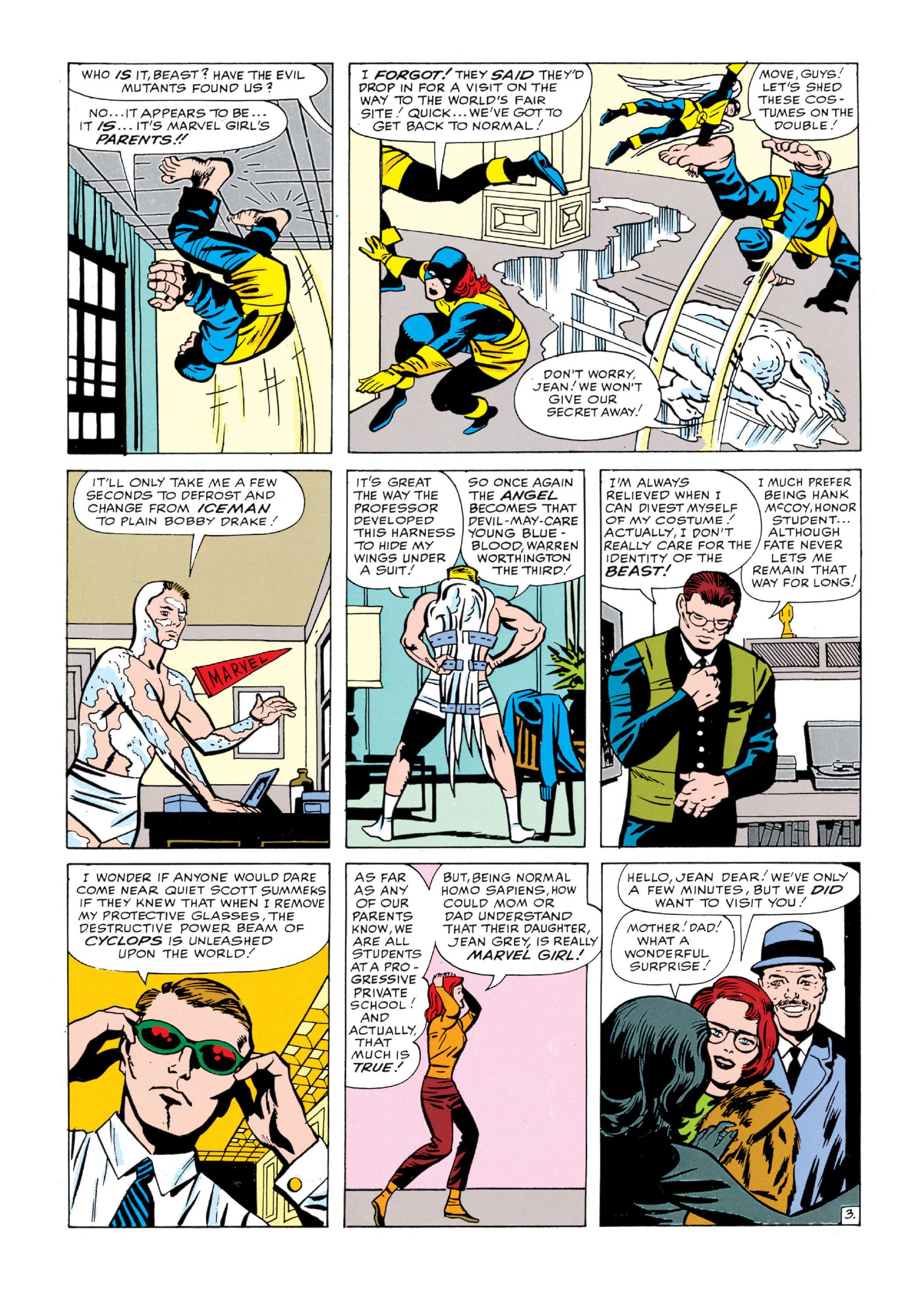 Read online Uncanny X-Men (1963) comic -  Issue #5 - 4
