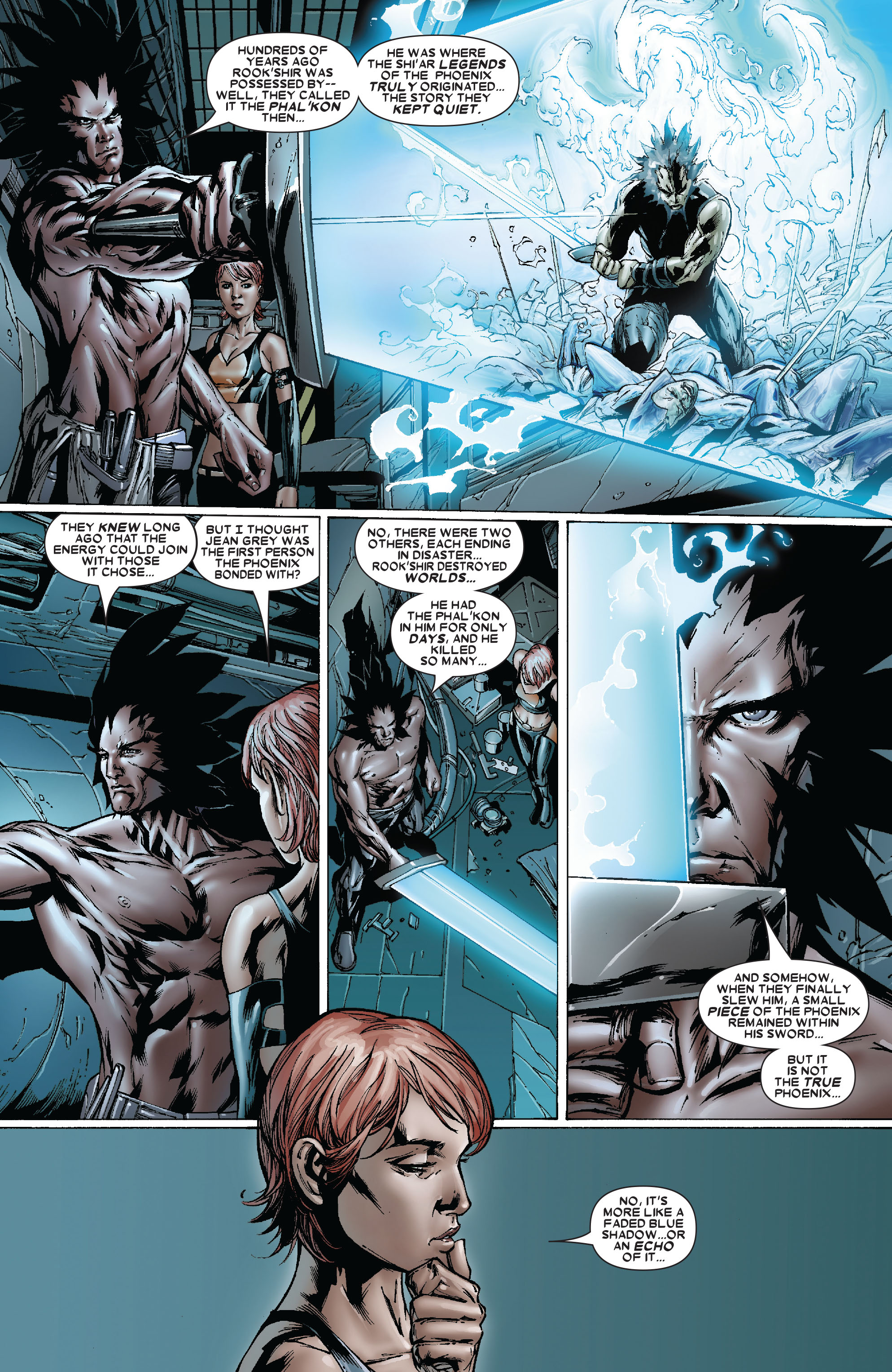 Read online Uncanny X-Men (1963) comic -  Issue #481 - 17