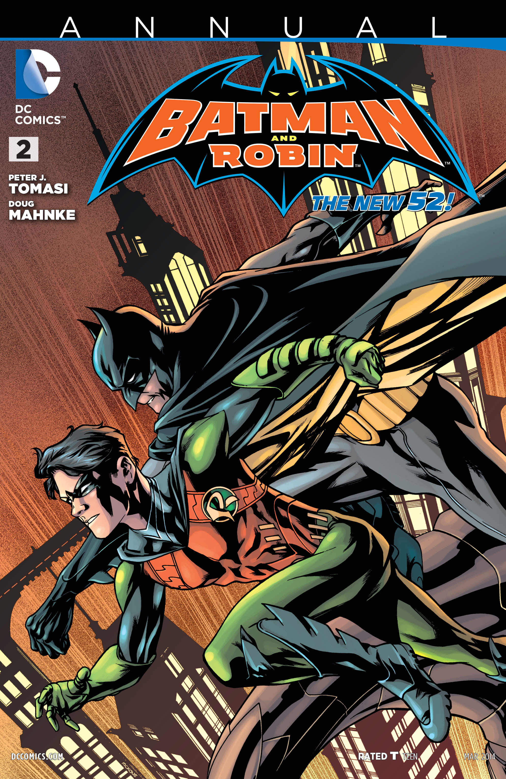 Batman and Robin (2011) Annual_2 Page 1