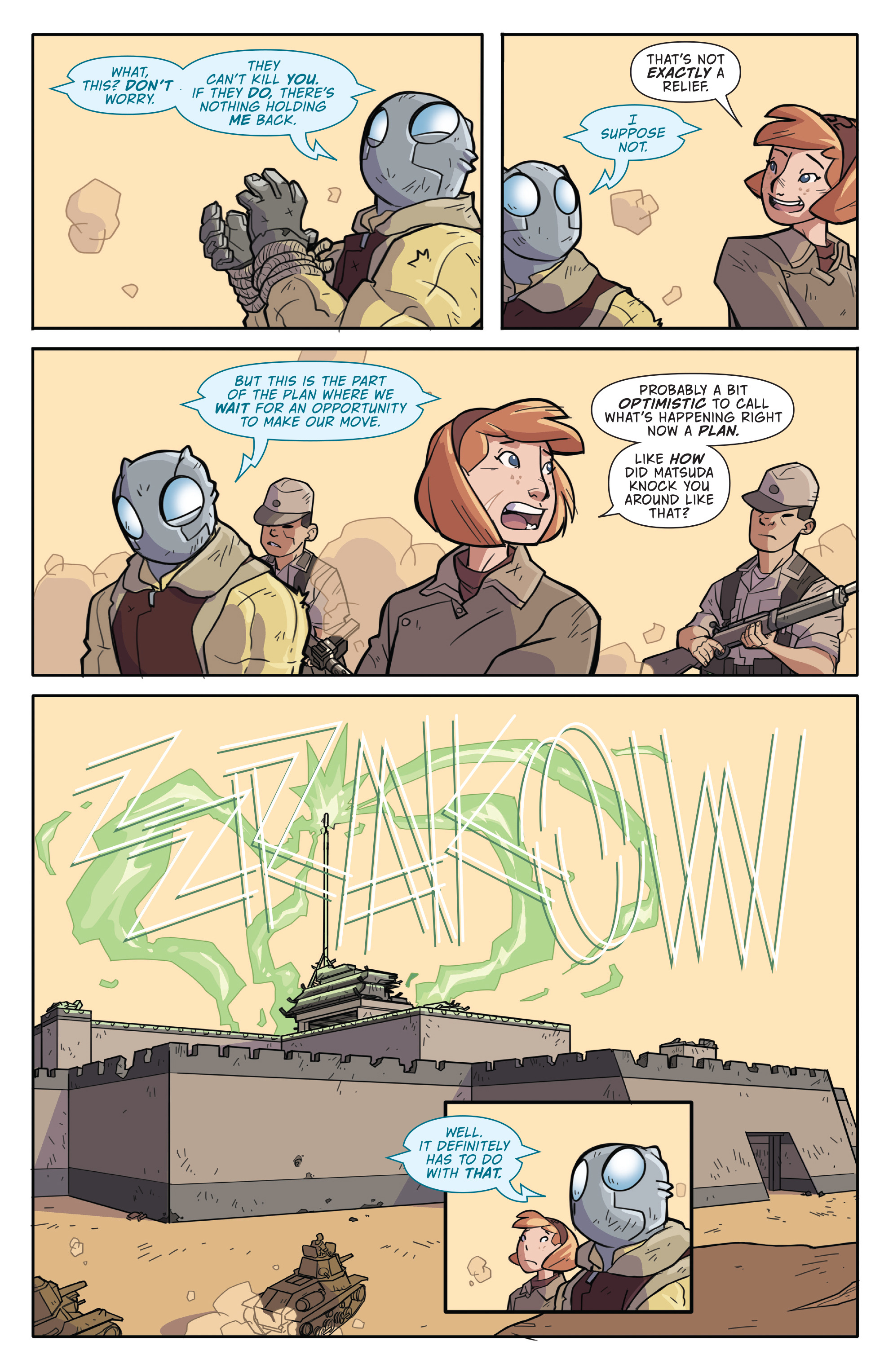 Read online Atomic Robo and the Temple of Od comic -  Issue #2 - 7