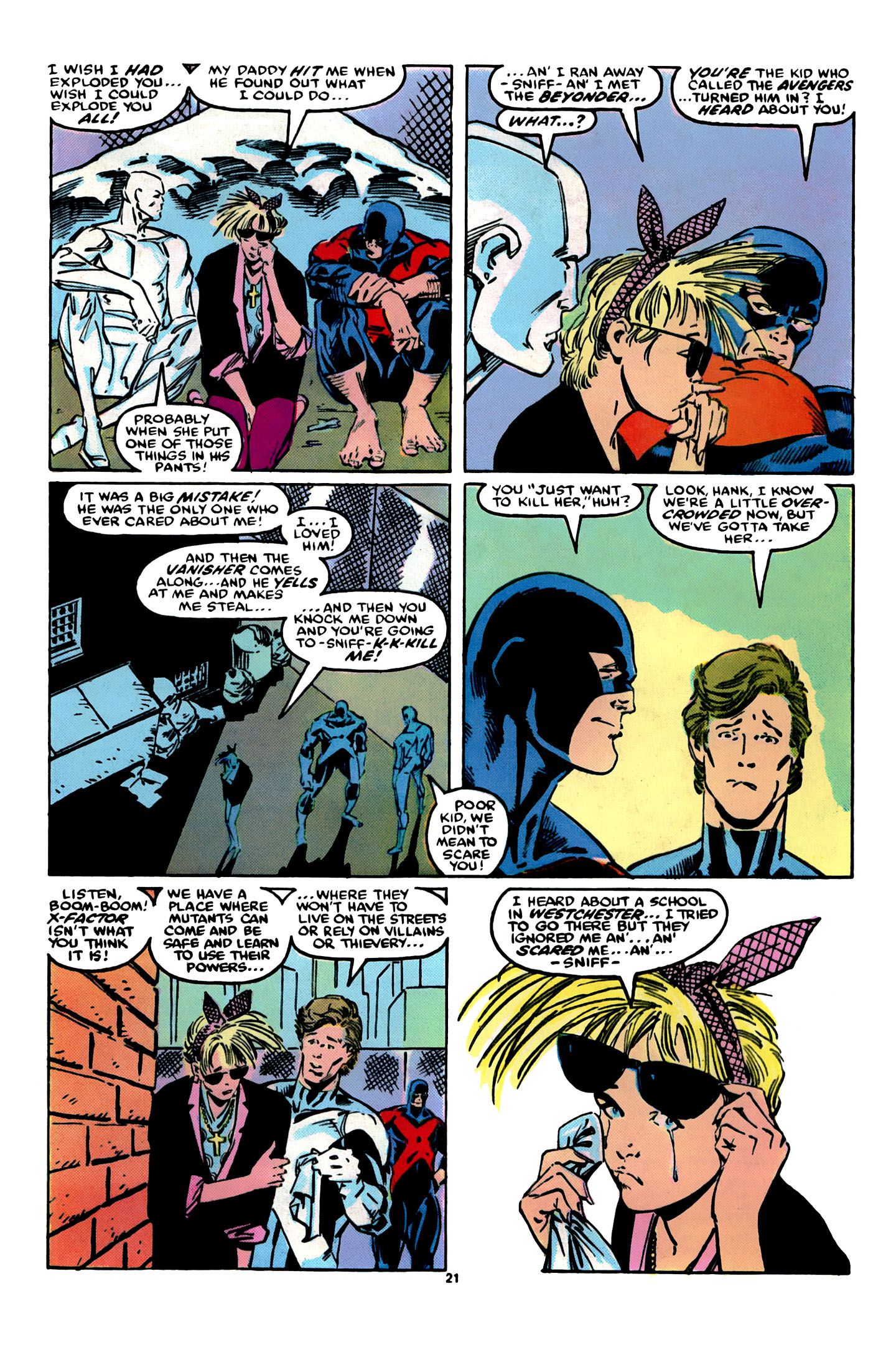 Read online X-Factor (1986) comic -  Issue #12 - 22