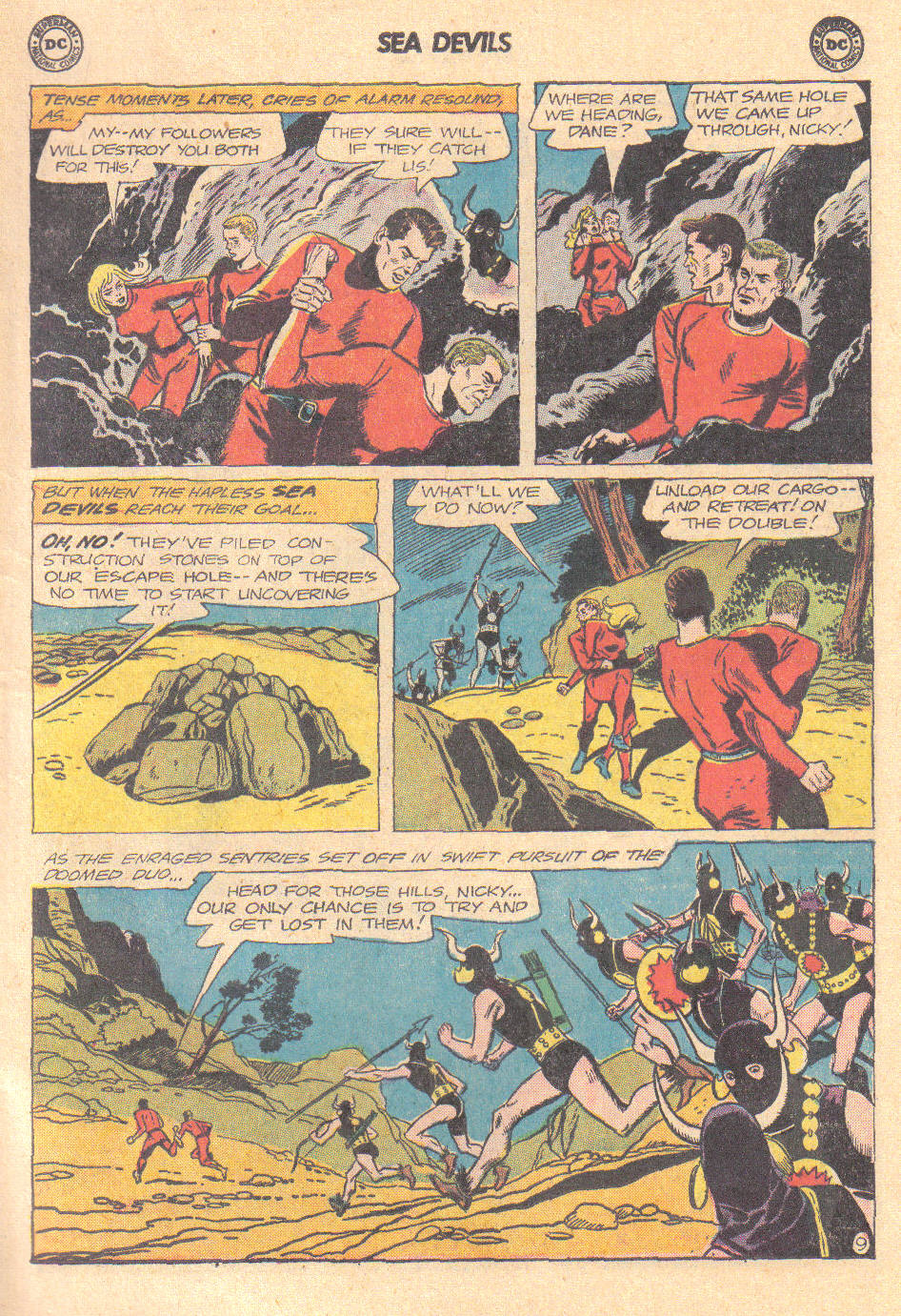 Read online Sea Devils comic -  Issue #16 - 11