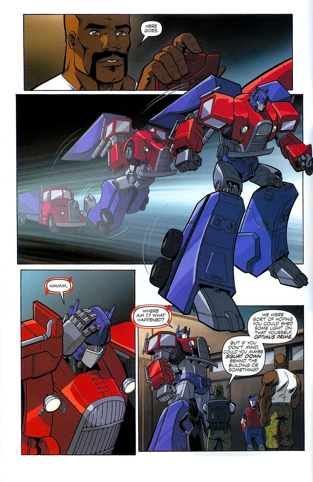 G.I. Joe vs. The Transformers II Issue #2 #3 - English 9