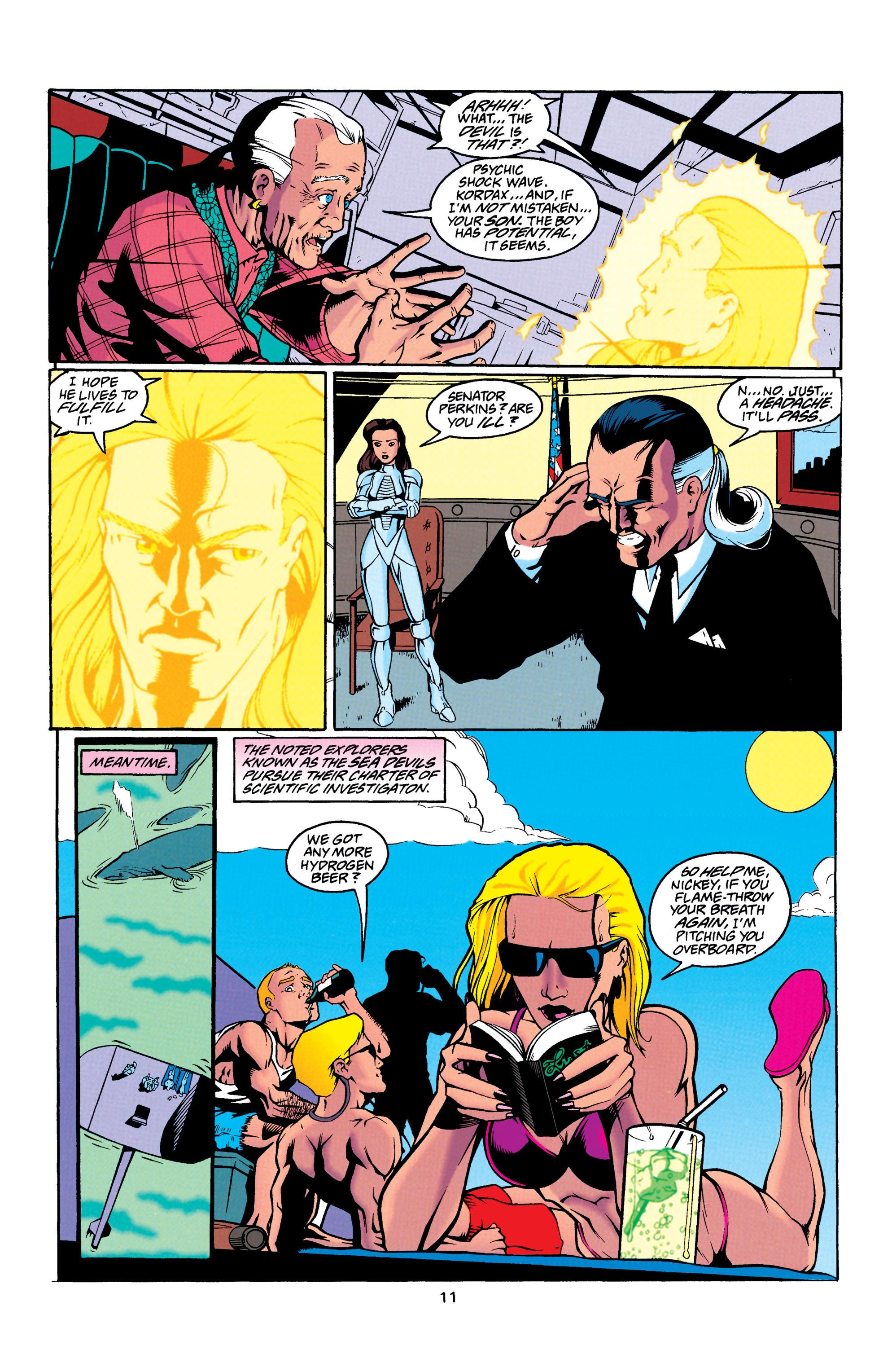 Read online Aquaman (1994) comic -  Issue #23 - 11