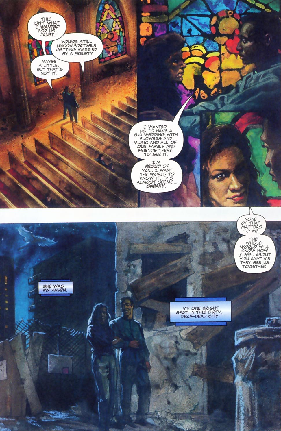 Read online Code of Honor comic -  Issue #2 - 10