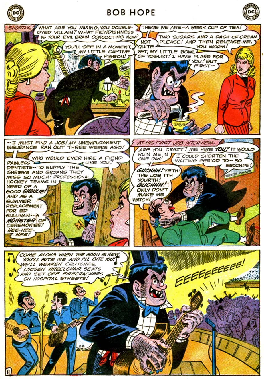 The Adventures of Bob Hope issue 92 - Page 15