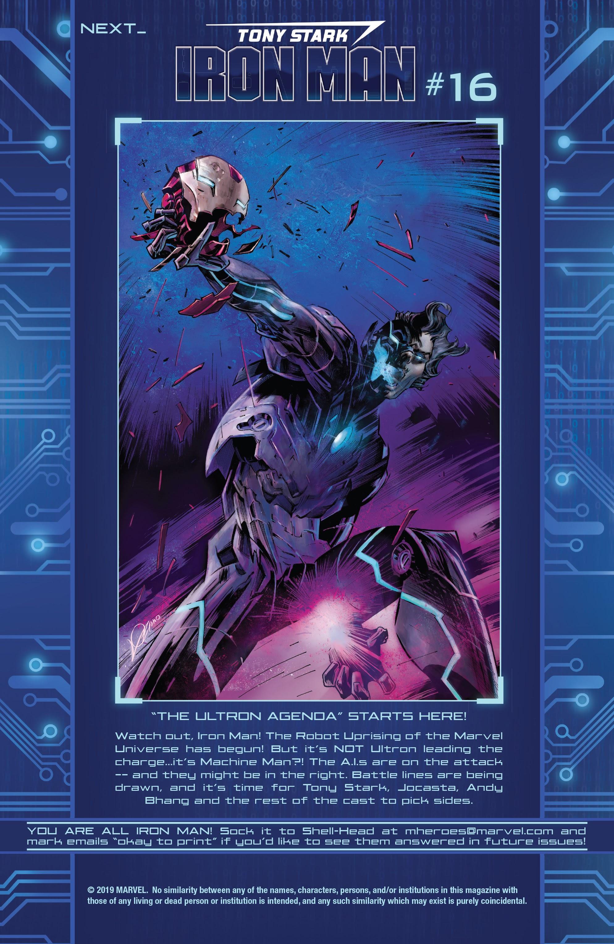 Read online Tony Stark: Iron Man comic -  Issue #15 - 23