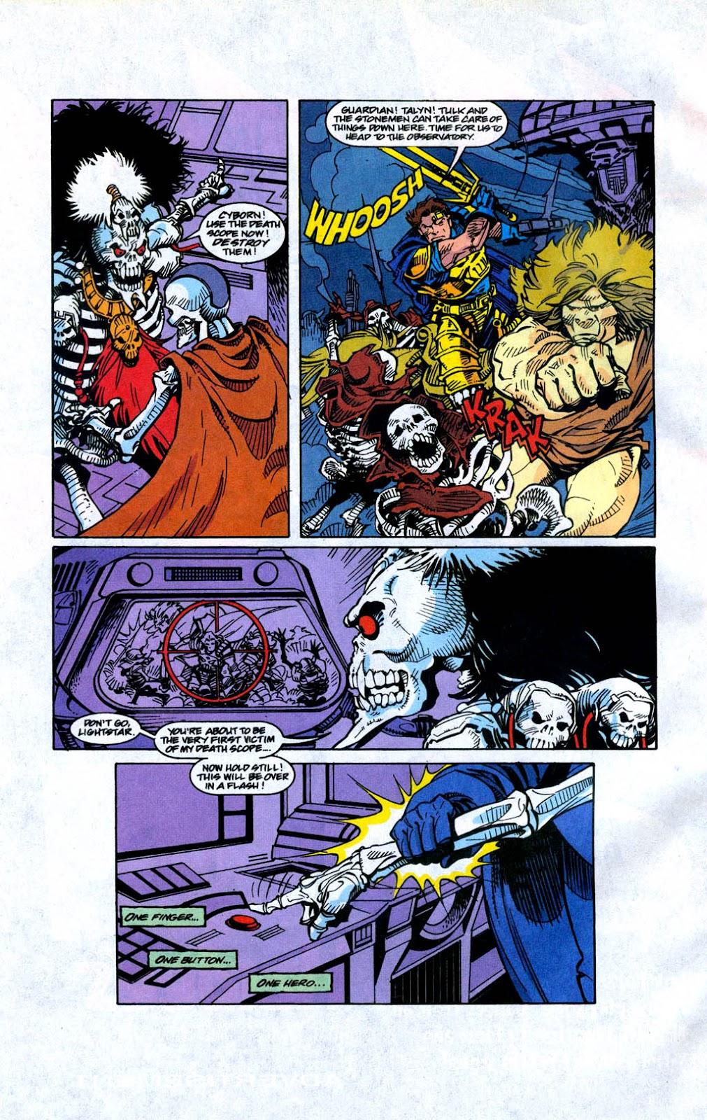 Skeleton Warriors Issue #4 #4 - English 20